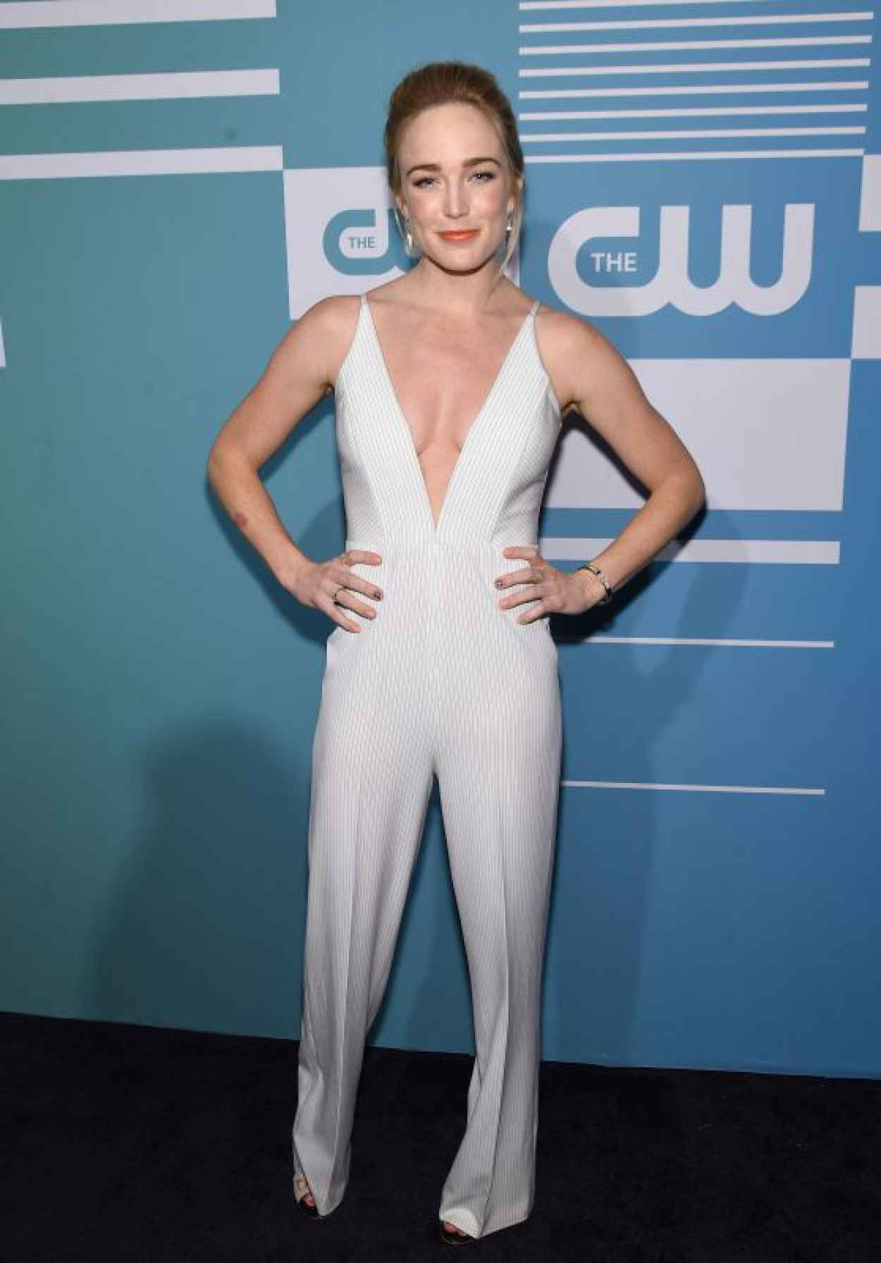 Caity Lotz The CW Networks 2015 Upfront in New York City