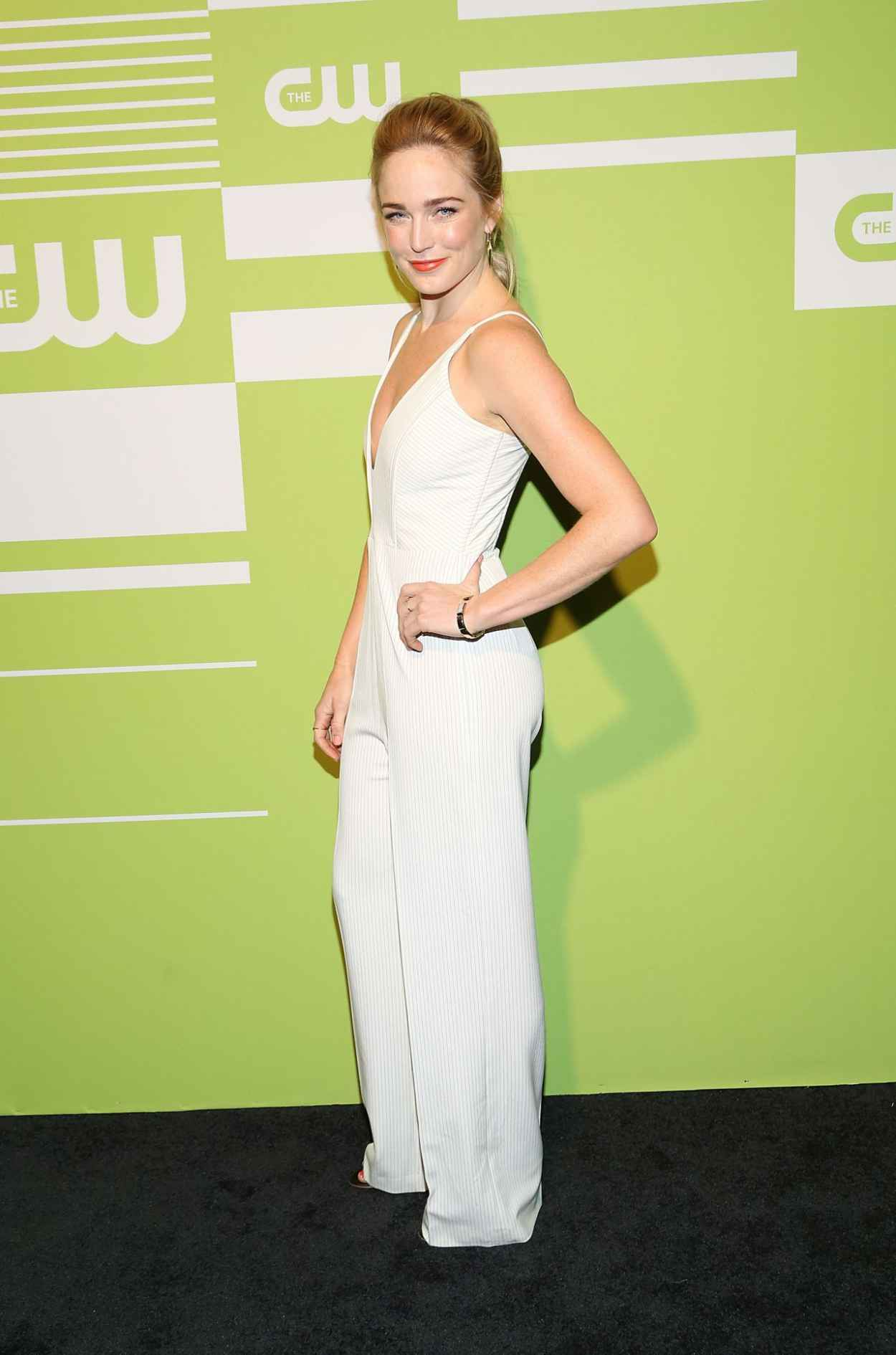 CAITY LOTZ at CW Networks 2015 Upfront in New York