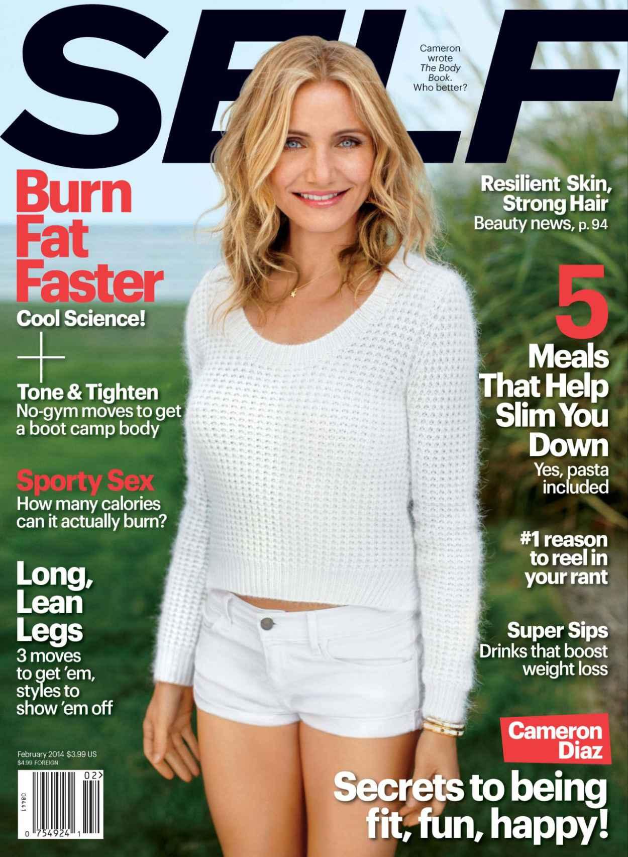 Cameron Diaz - SELF Magazine - February 2015 Cover-1