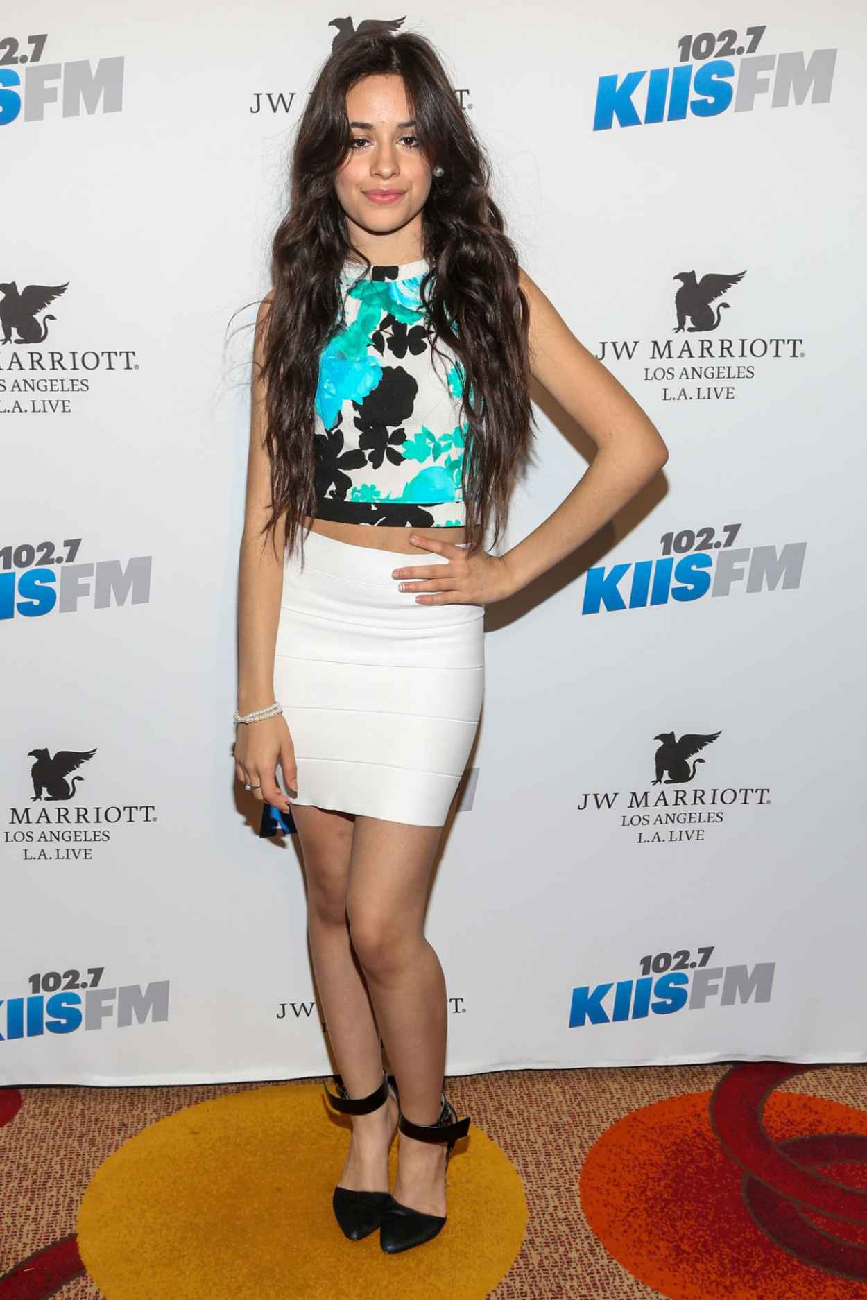 Camila Cabello - KIIS FM 2015 Grammy Pre-party and Gifting Suite in Los Angeles-2