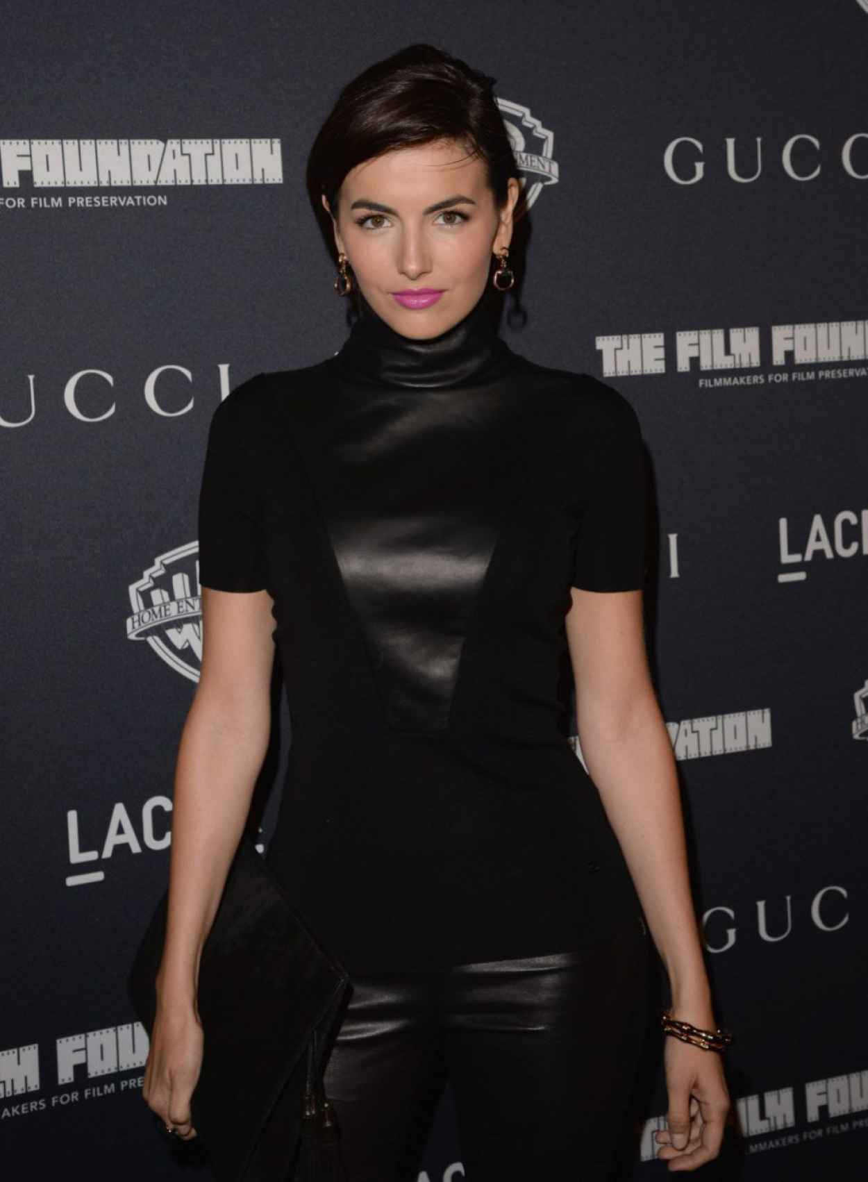 Camilla Belle in Black on Red Carpet - REBEL WITHOUT A CAUSE Premiere in Los Angeles-1