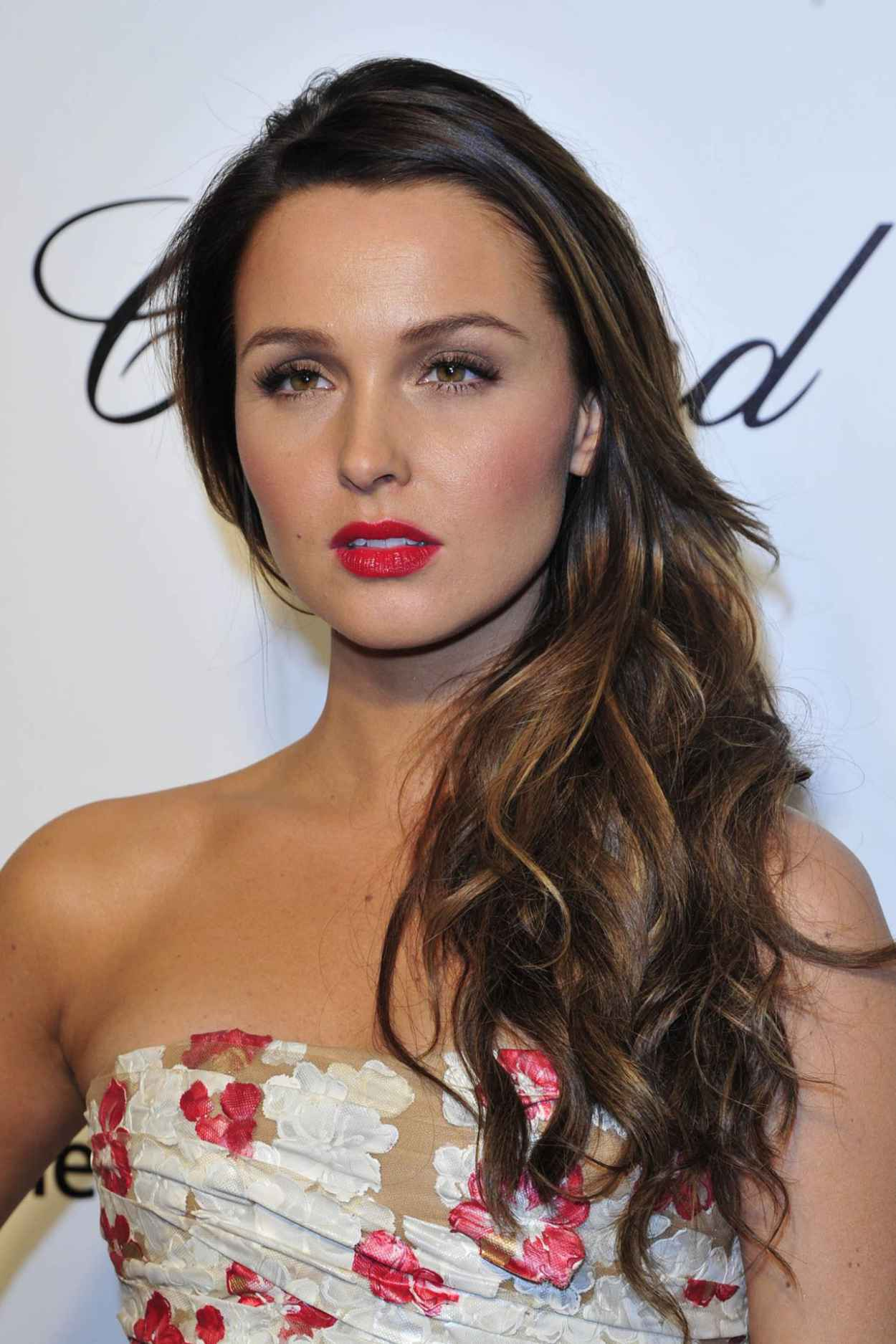 Camilla Luddington - 2015 Elton John Oscar Party-1