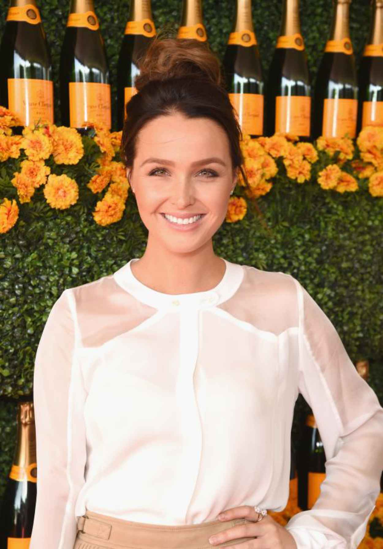 Camilla Luddington - 2015 Veuve Clicquot Polo Classic in Pacific Palisades-1