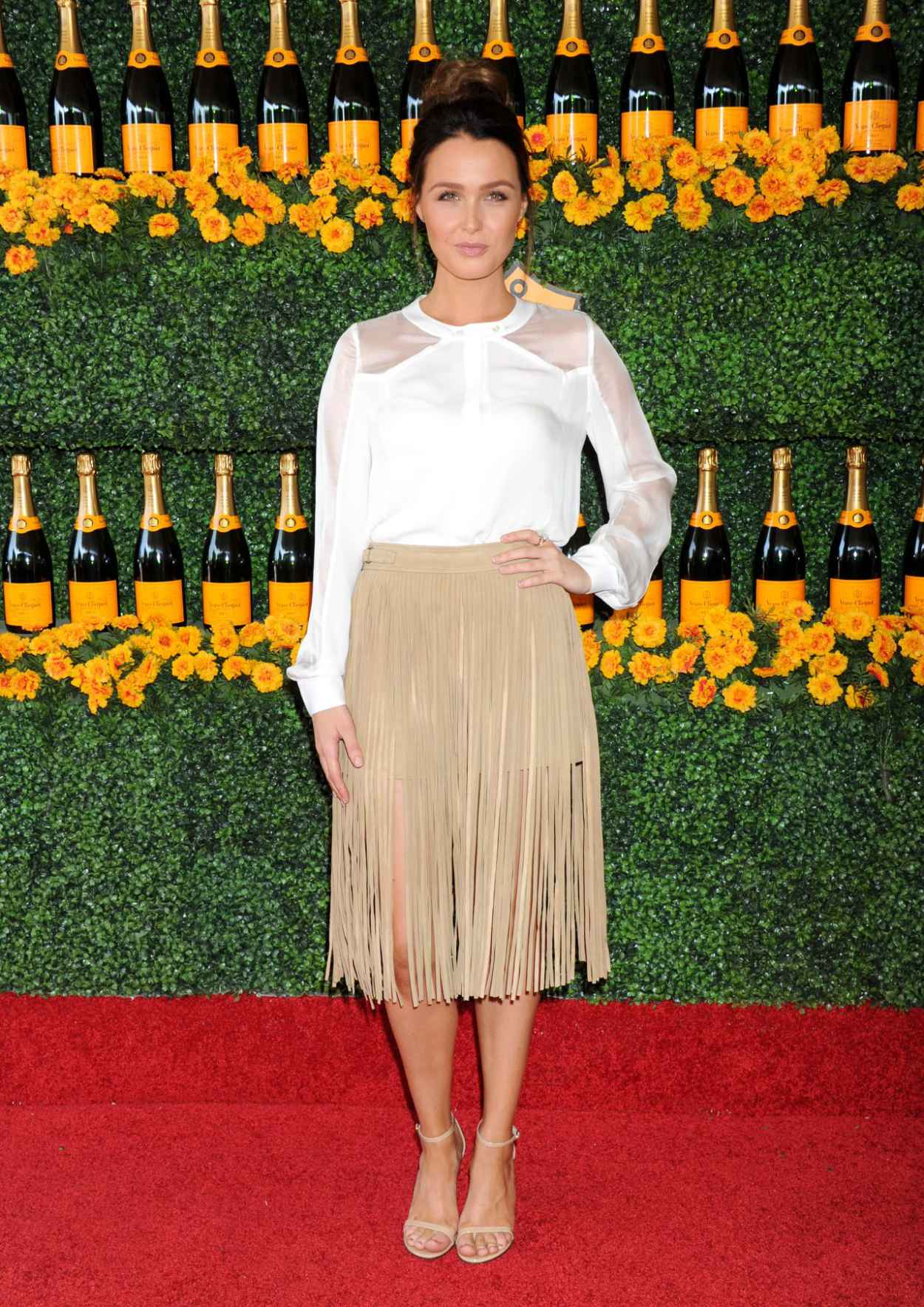Camilla Luddington - 2015 Veuve Clicquot Polo Classic in Pacific Palisades-3