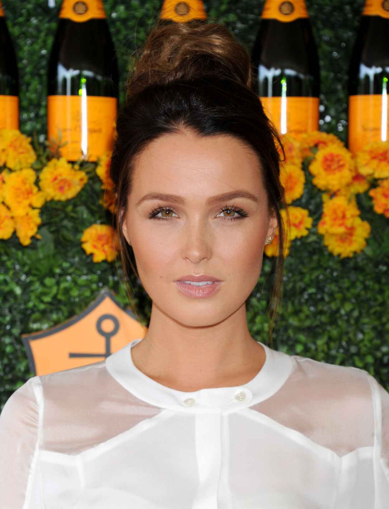 Camilla Luddington - 2015 Veuve Clicquot Polo Classic in Pacific Palisades-4