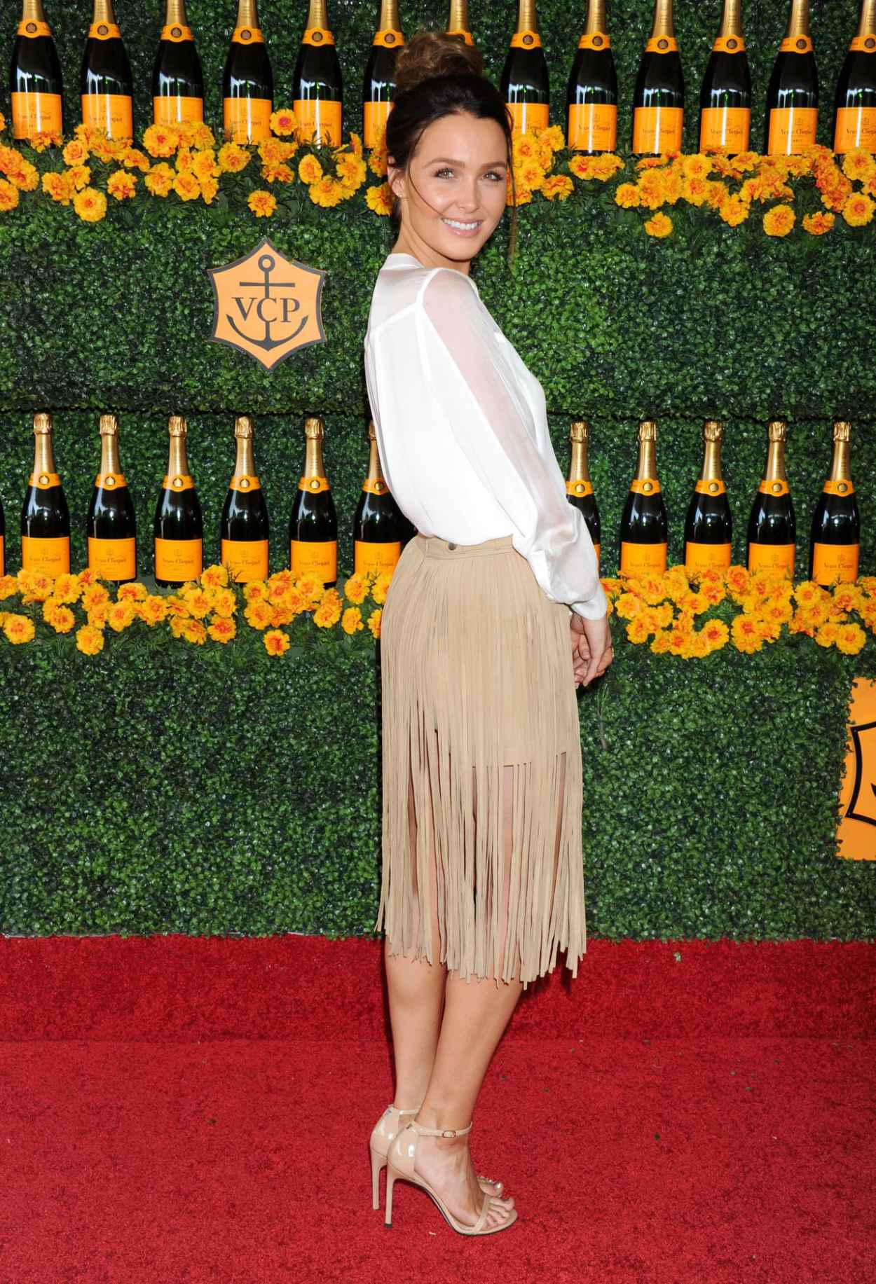 Camilla Luddington - 2015 Veuve Clicquot Polo Classic in Pacific Palisades-5