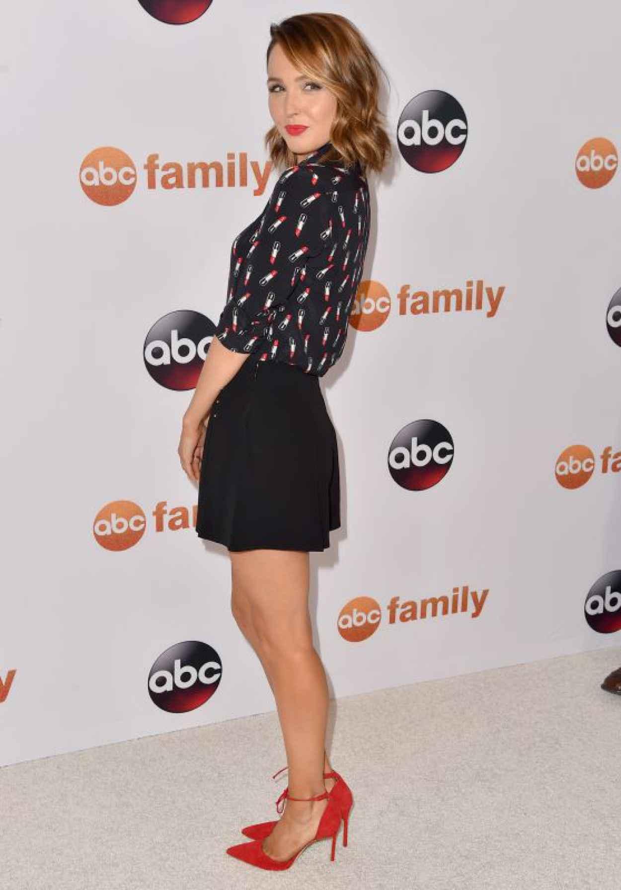Camilla Luddington - Disney ABC 2015 Summer TCA Press Tour Photo Call in Beverly Hills-1
