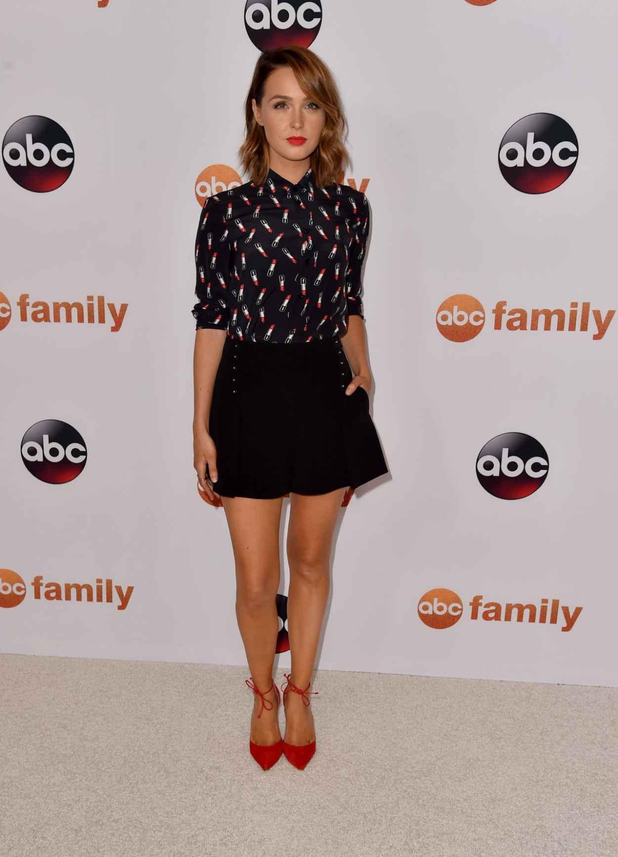 Camilla Luddington - Disney ABC 2015 Summer TCA Press Tour Photo Call in Beverly Hills-2