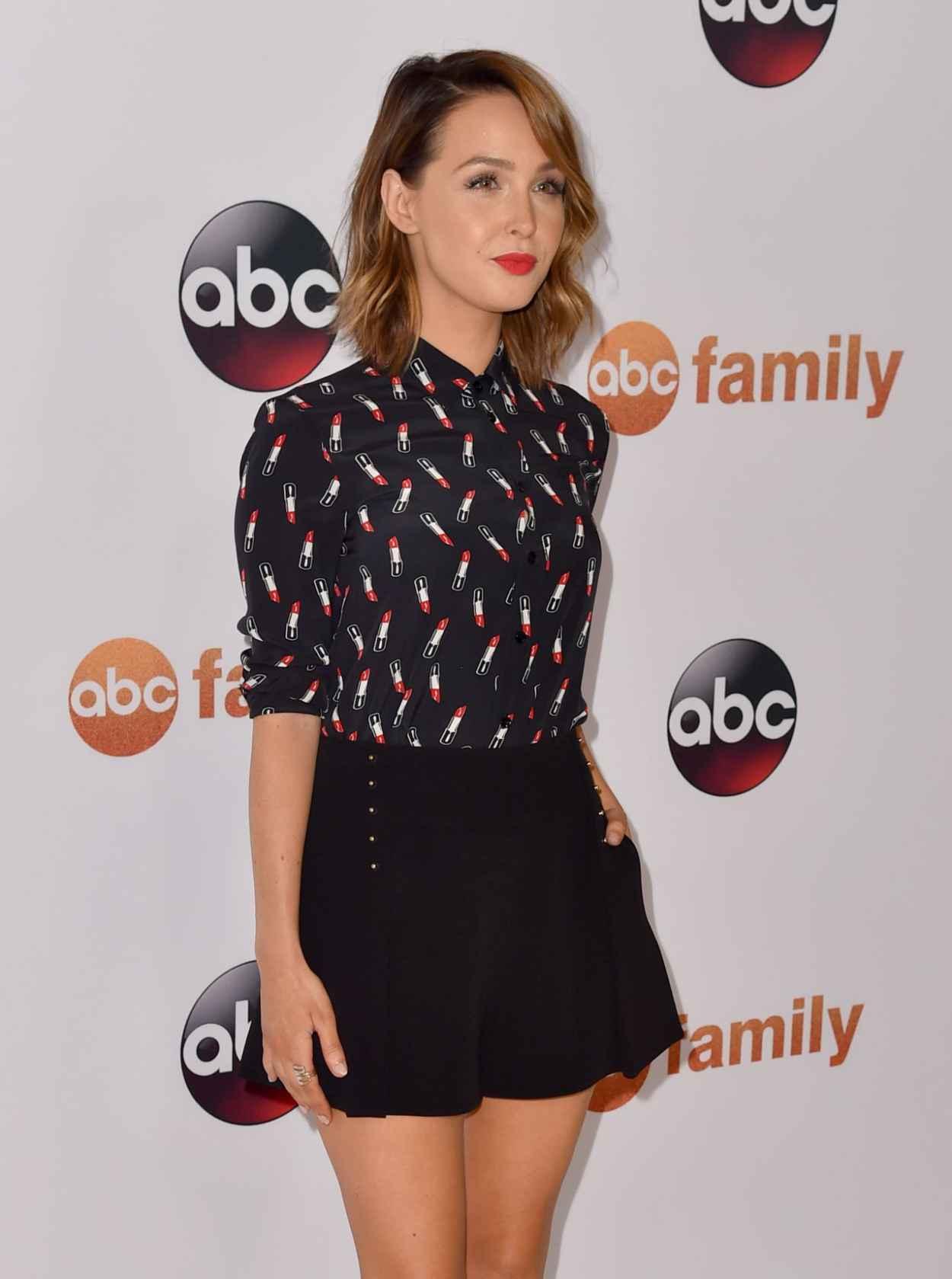 Camilla Luddington - Disney ABC 2015 Summer TCA Press Tour Photo Call in Beverly Hills-3