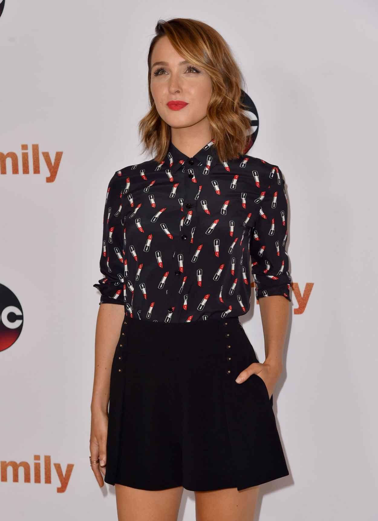 Camilla Luddington - Disney ABC 2015 Summer TCA Press Tour Photo Call in Beverly Hills-5