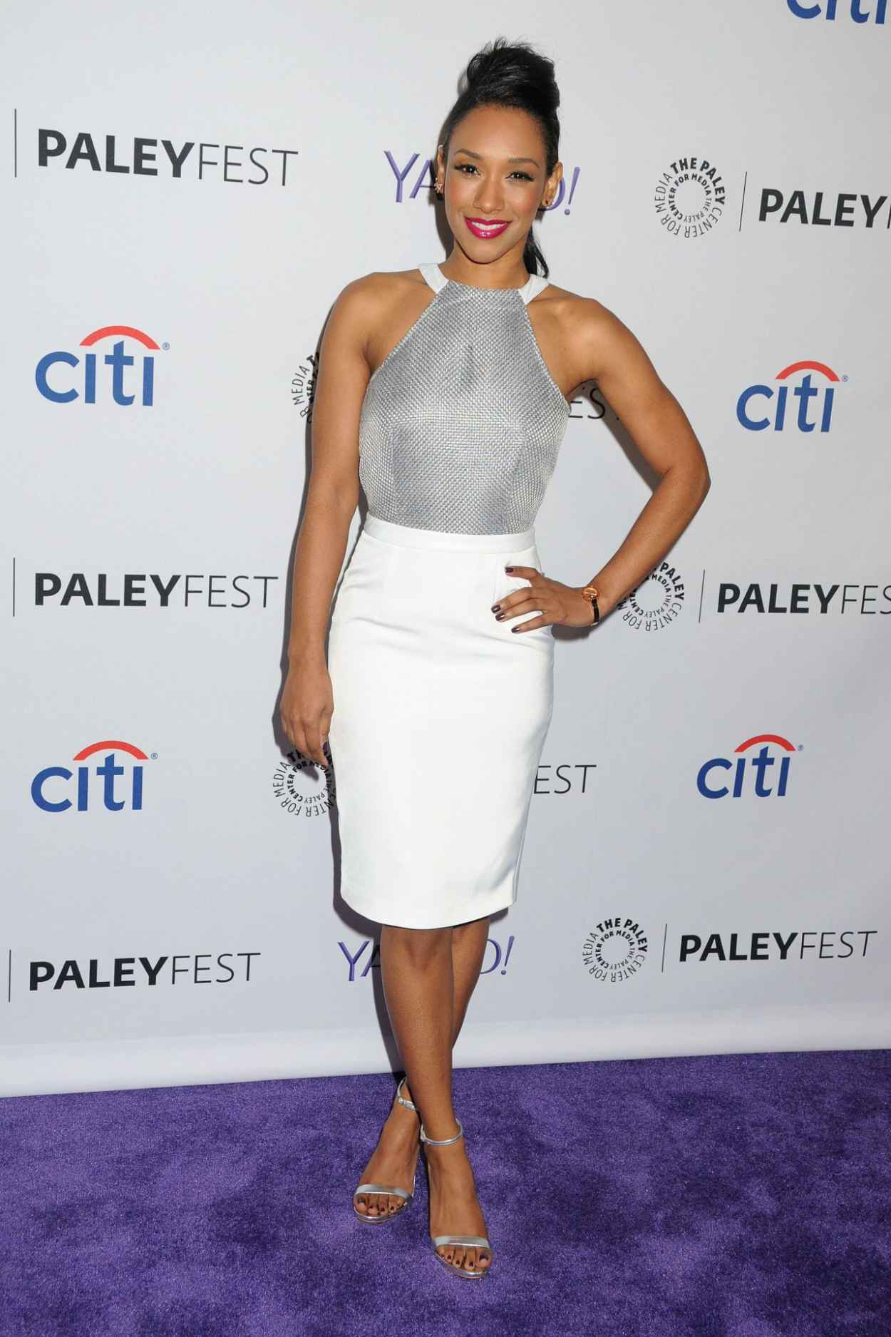 Candice Patton - The Paley Center 2015 Flash Event for Paleyfest in Hollywood-1