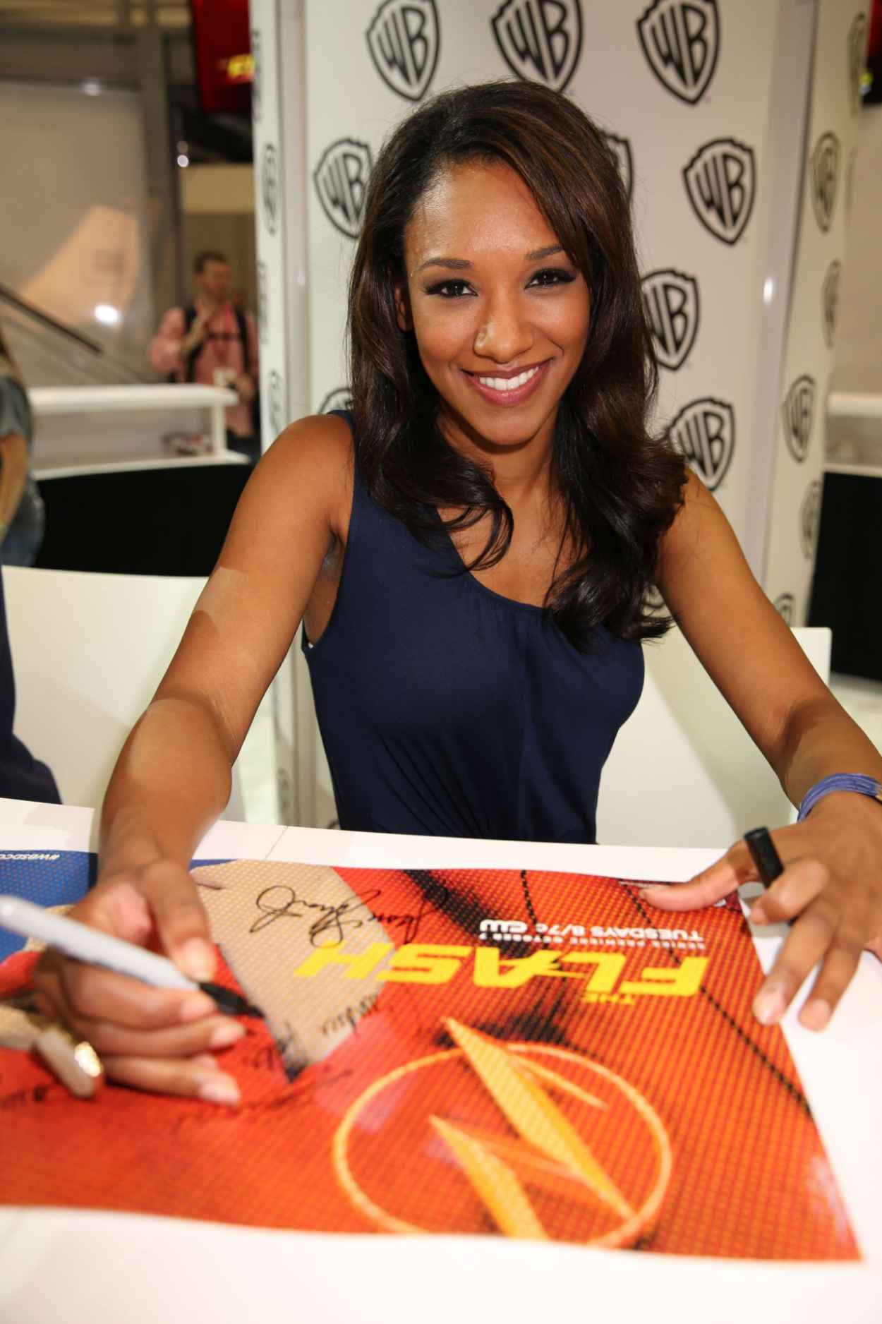 Candice Patton - Warner Bros. at SDCC 2015-1