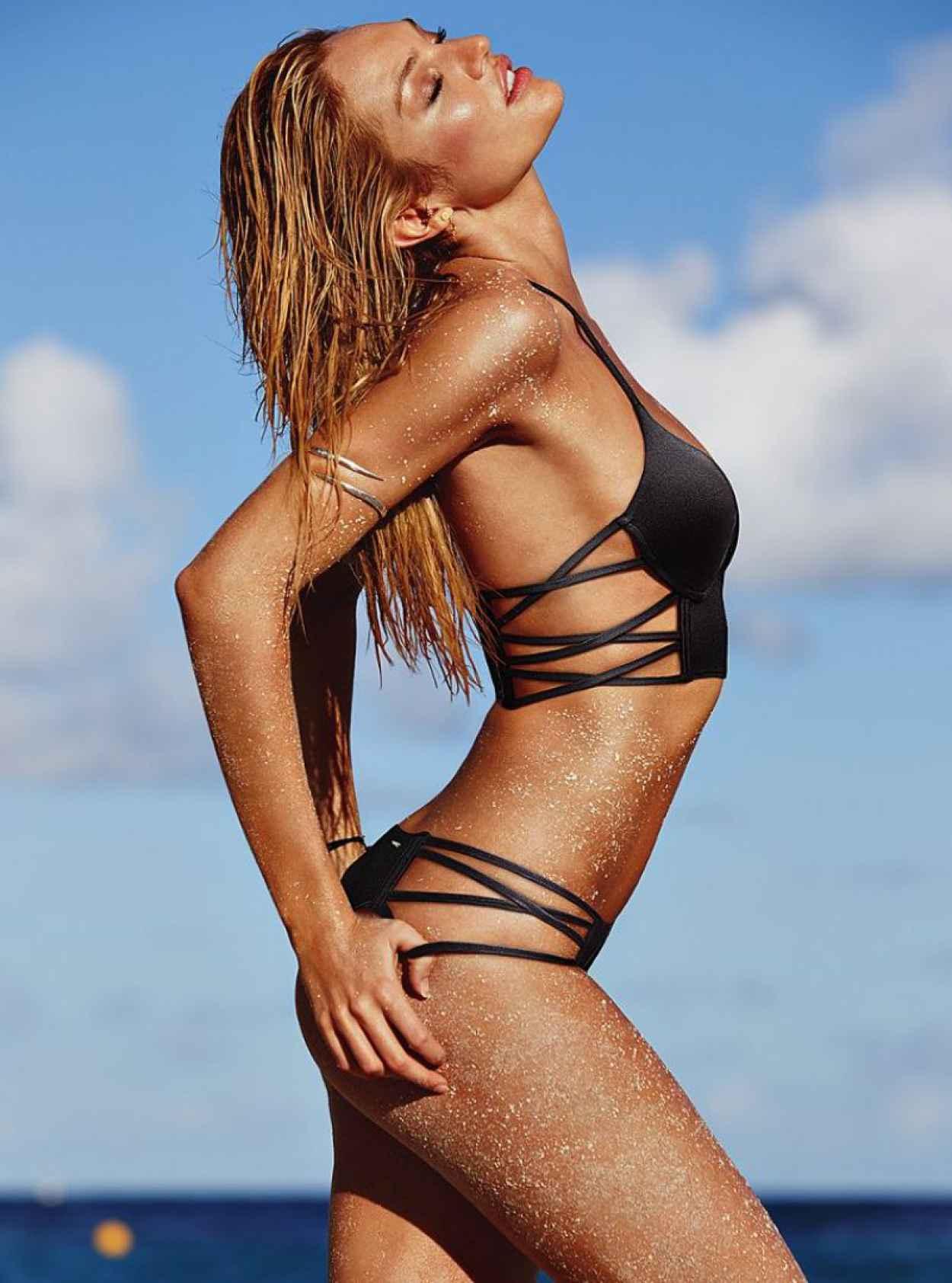 Candice swanepoel bikini shoot that necessary