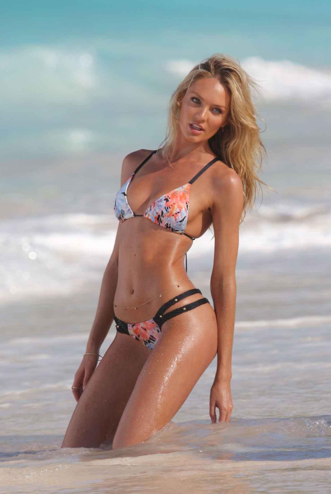 Candice Swanepoel Bikini Photoshoot - Victoria Secret Set in St. Barts - Part III-1