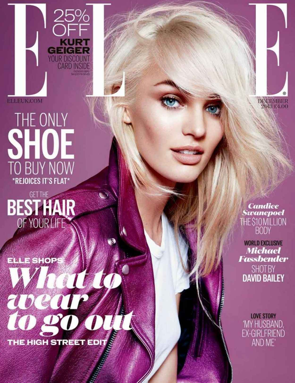 Candice Swanepoel - ELLE Magazine (UK) - December 2015 Issue-1