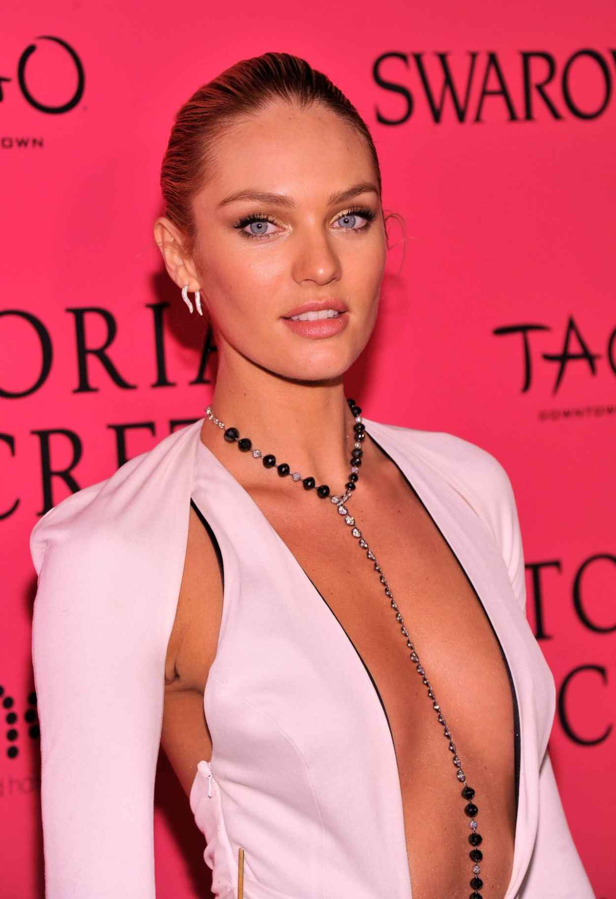 Candice Swanepoel Hot Red Carpet Photos - Victorias Secret Fashion After Party-1