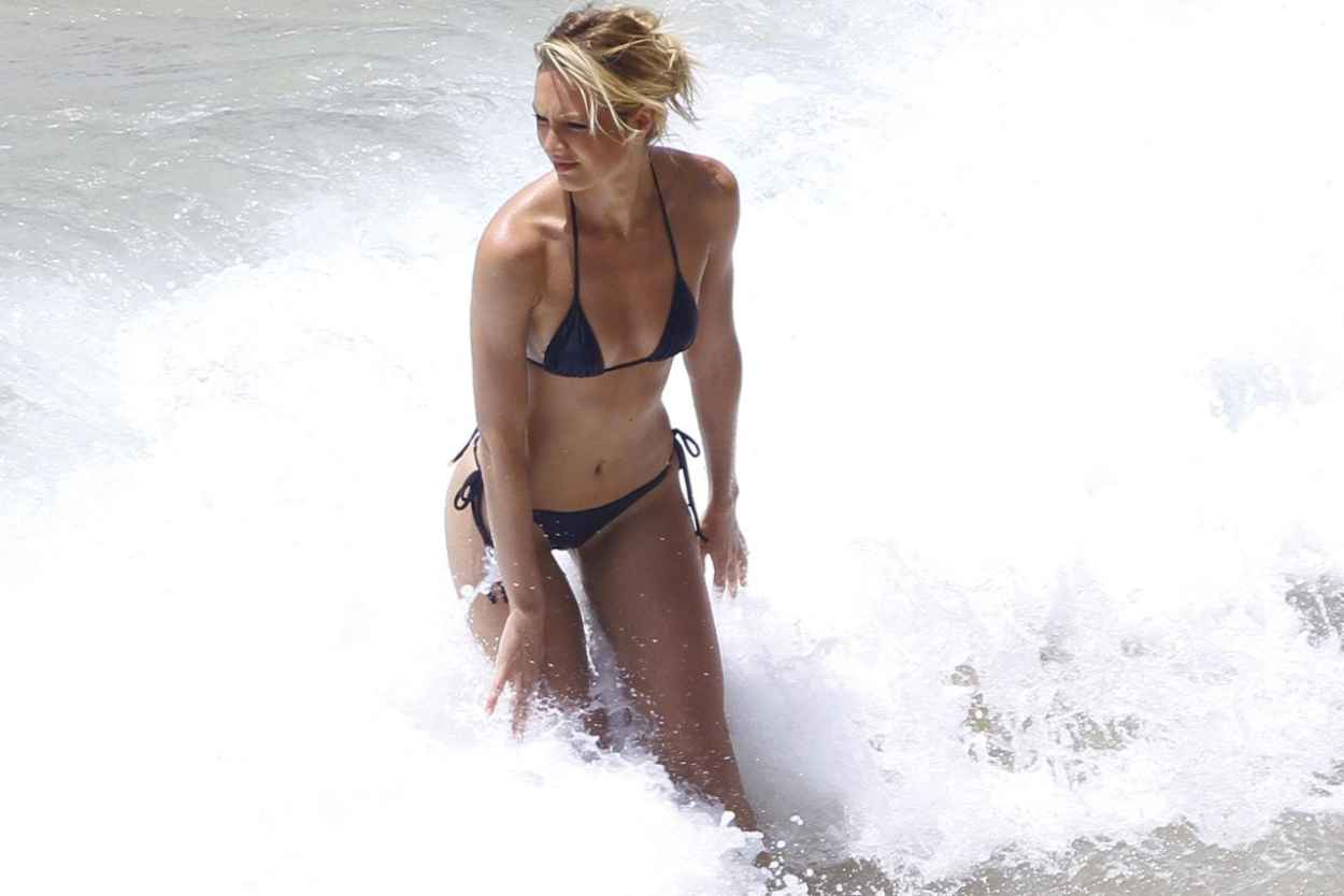 Candice Swanepoel in a Bikini - Photoshoot in Brazil - March 2015-1