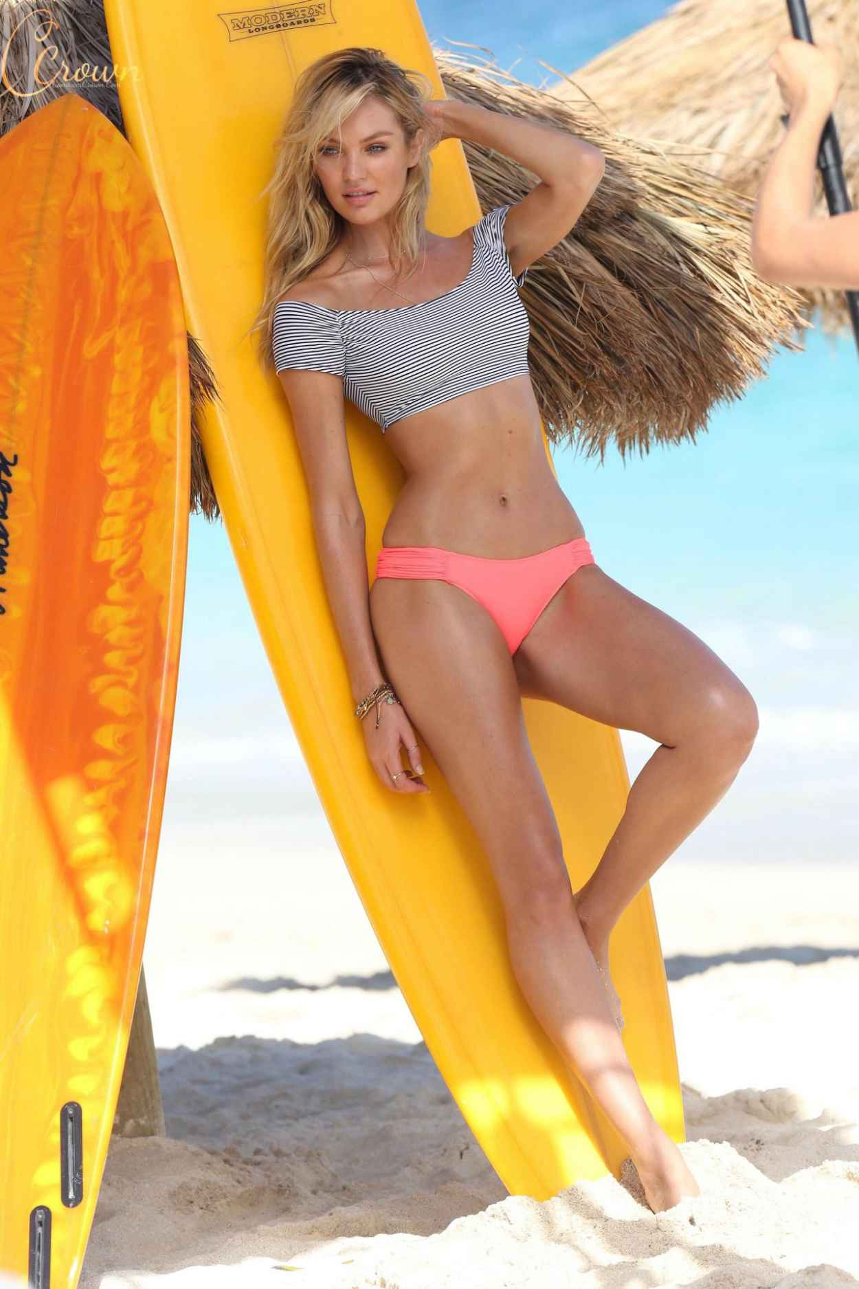 Candice Swanepoel in a Bikini - Victoria Secret Bikini Photoshoot in St. Barts-1