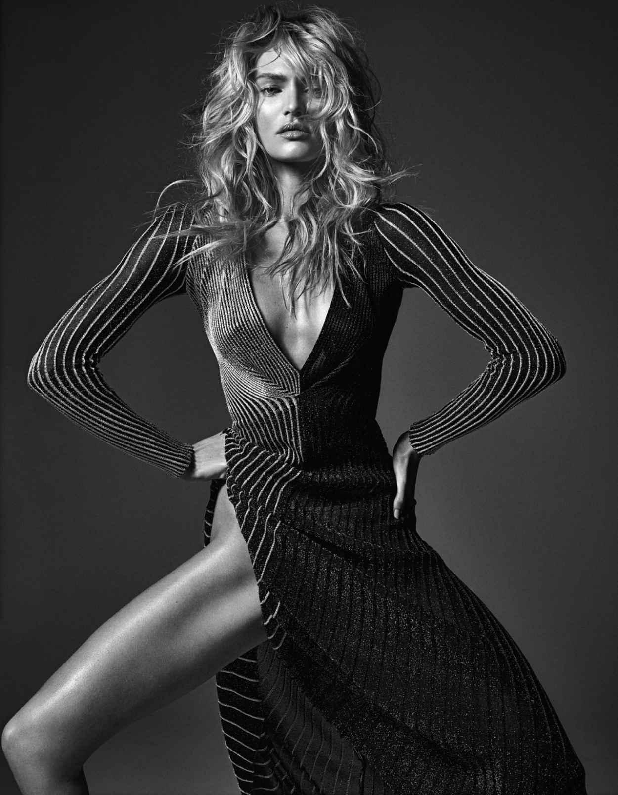 Candice Swanepoel - W Magazine - March 2015 - (by Mario Sorrenti)-1