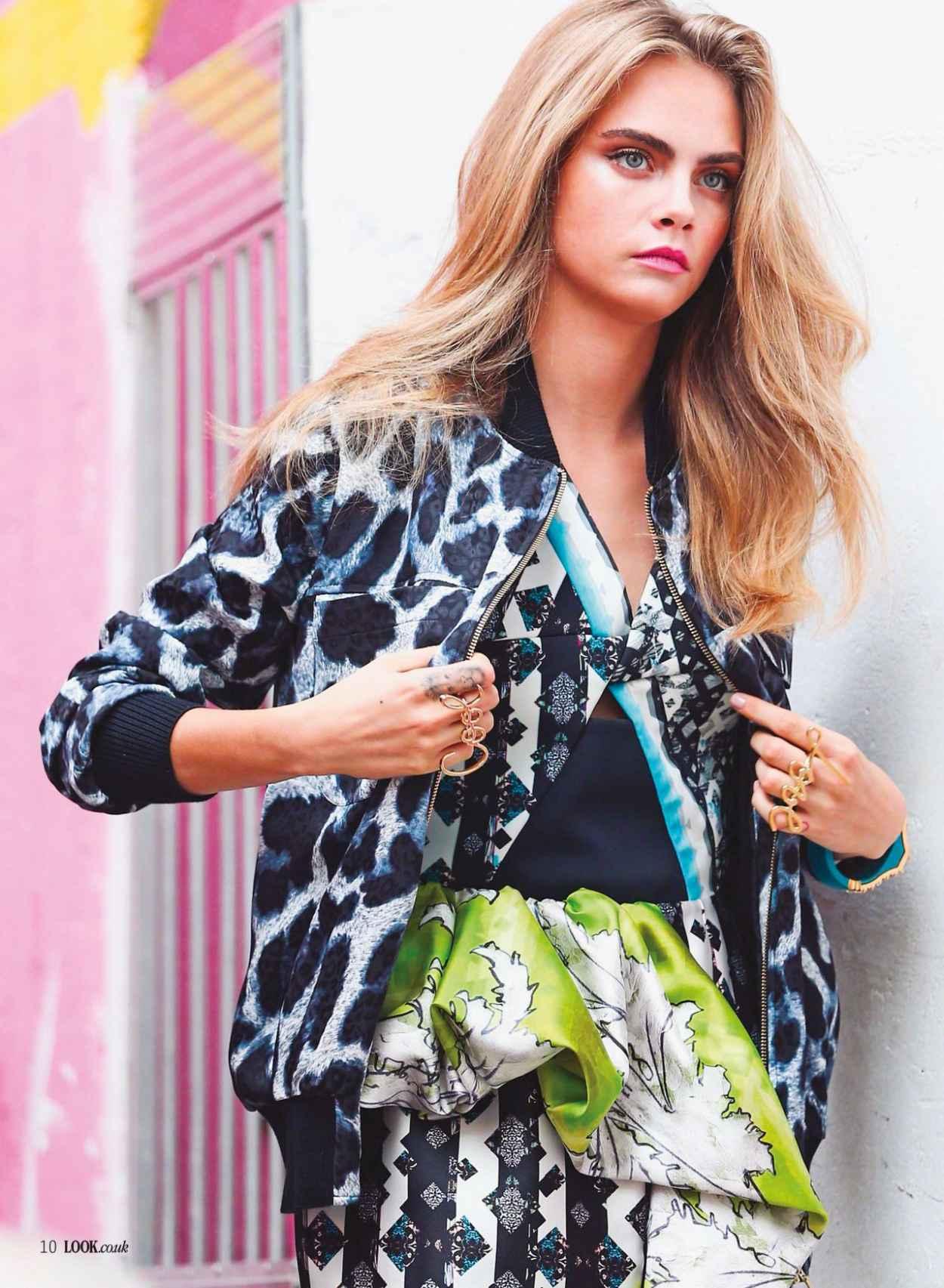 Cara Delevingne - LOOK Magazine (UK) - January 2015 Issue-1