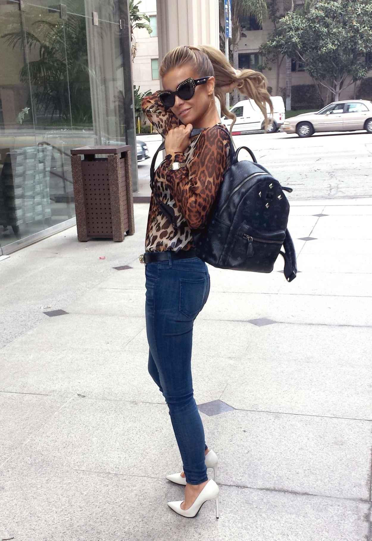Carmen Electra pour Crocker Jeans - Purepeople