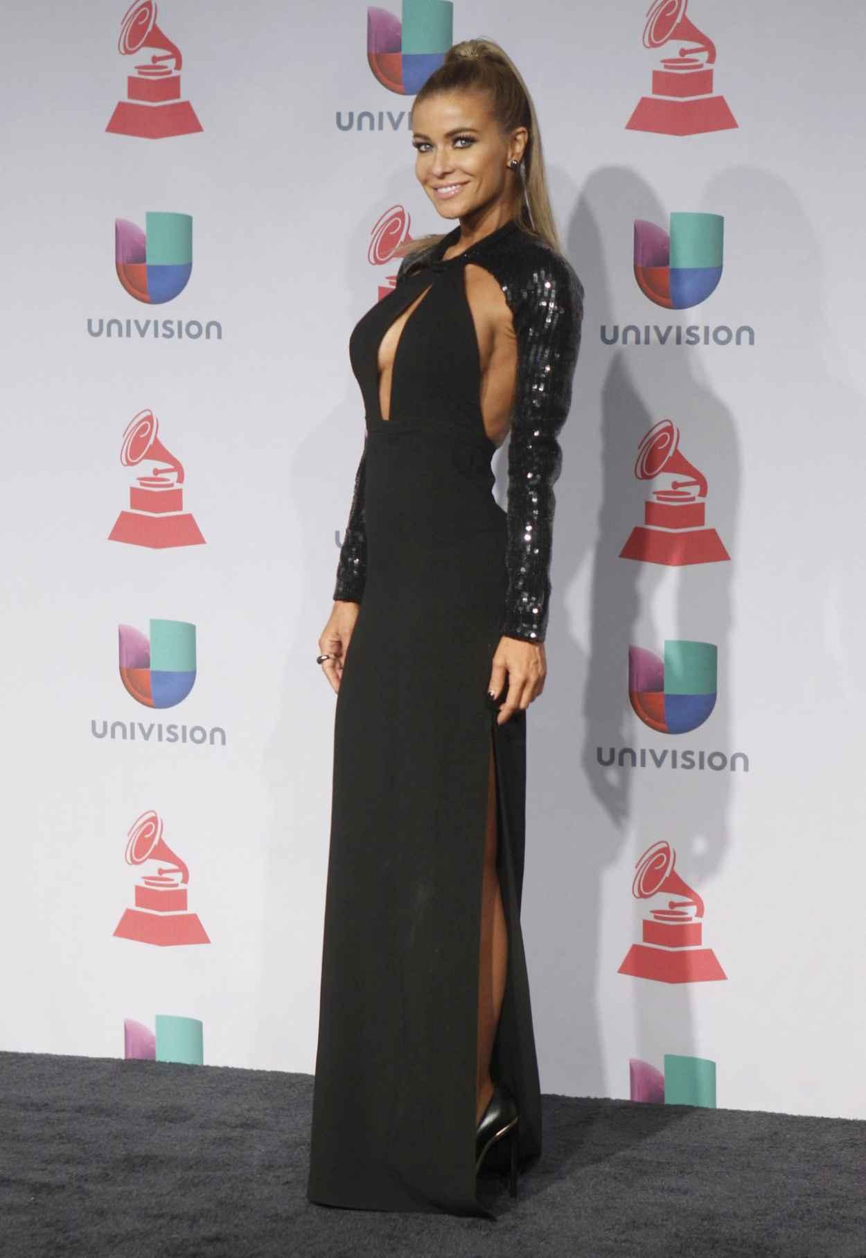 Carmen Electra on Red Carpet - 14th Annual Latin GRAMMY Awards in Las Vegas - November 2015-1