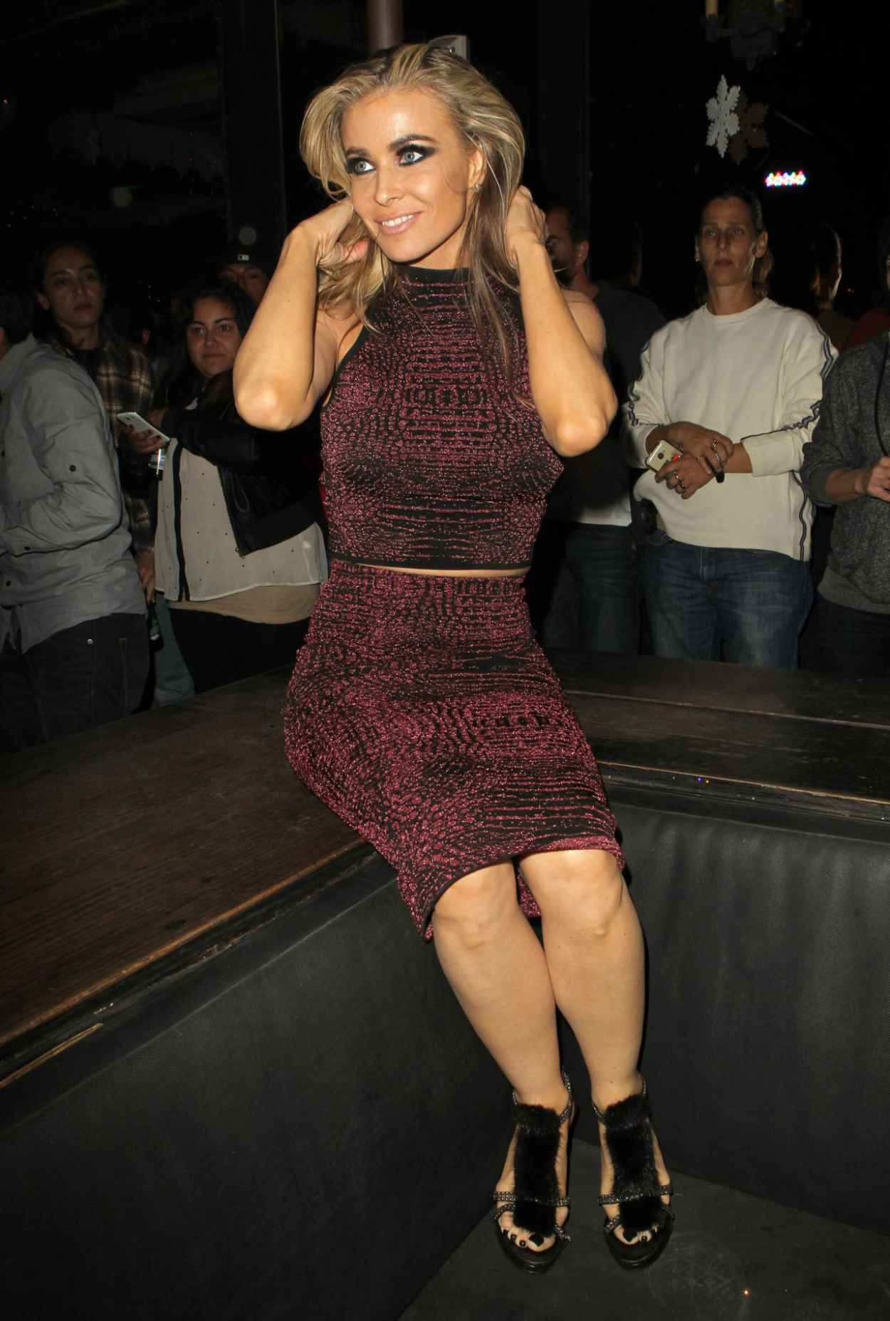 Carmen Electra - The Abbey Club in West Hollywood, Dec. 2015-1