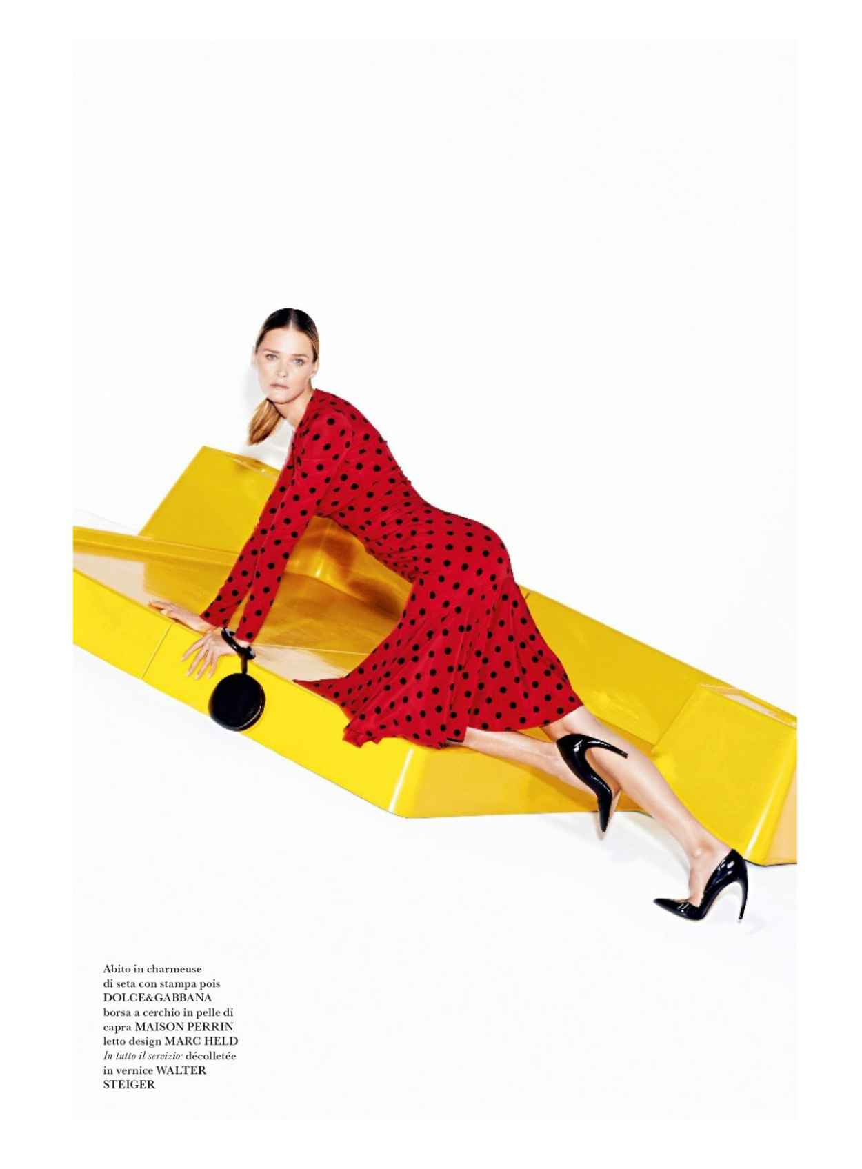 Carmen Kass - Flair #9 Magazine - March 2015 Issue-1