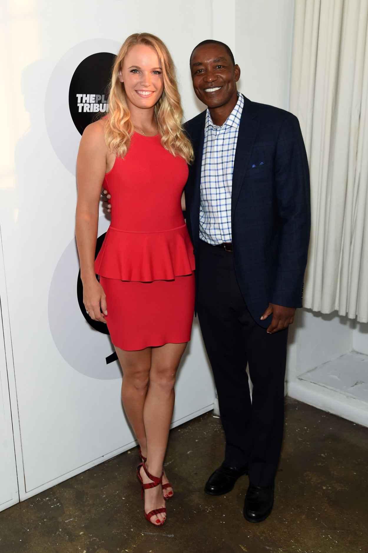 Caroline Wozniacki - Players Tribune Party to celebrate Women in Sports and the 2015 U.S. Open in New York City-3