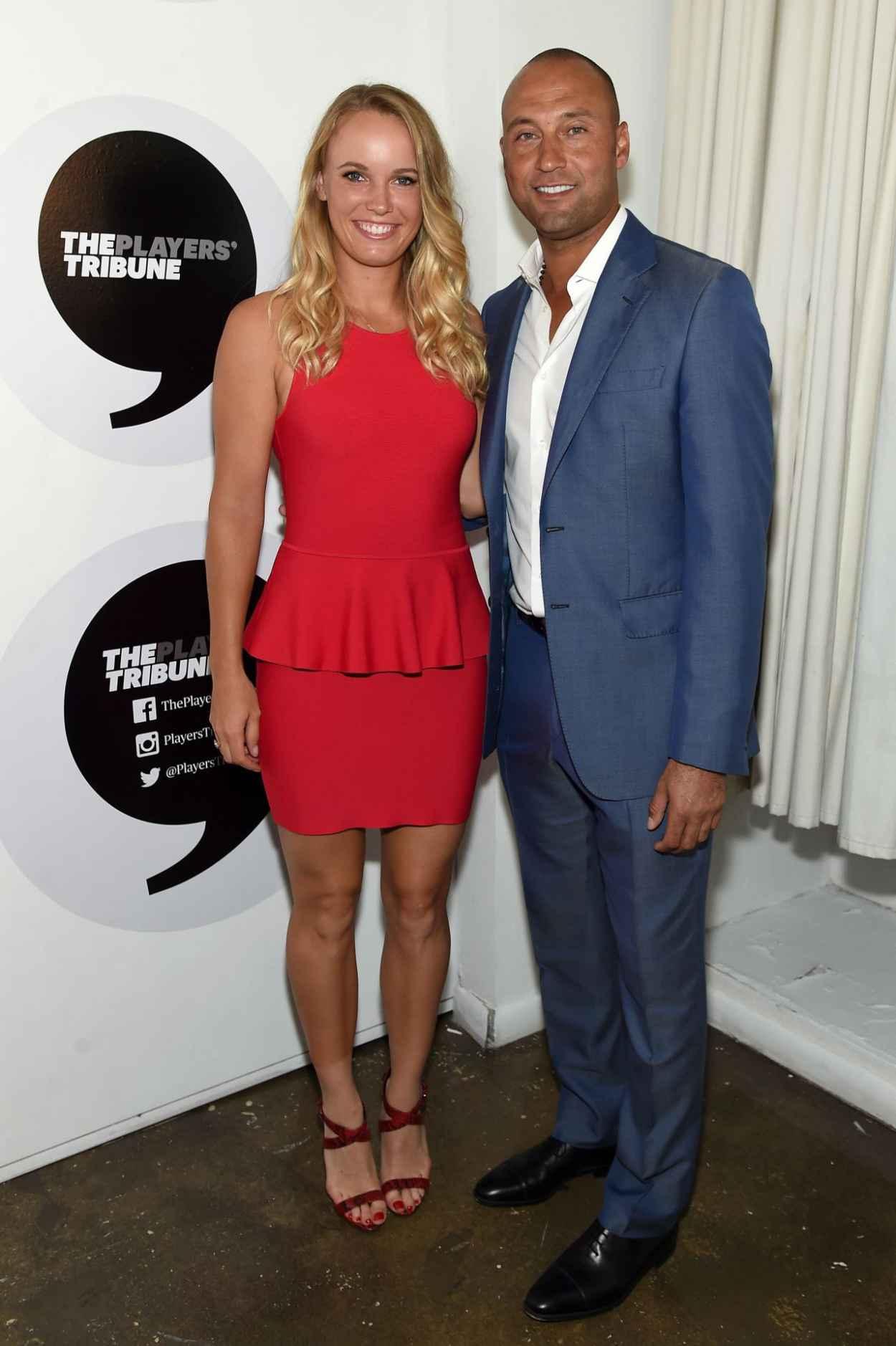 Caroline Wozniacki - Players Tribune Party to celebrate Women in Sports and the 2015 U.S. Open in New York City-5