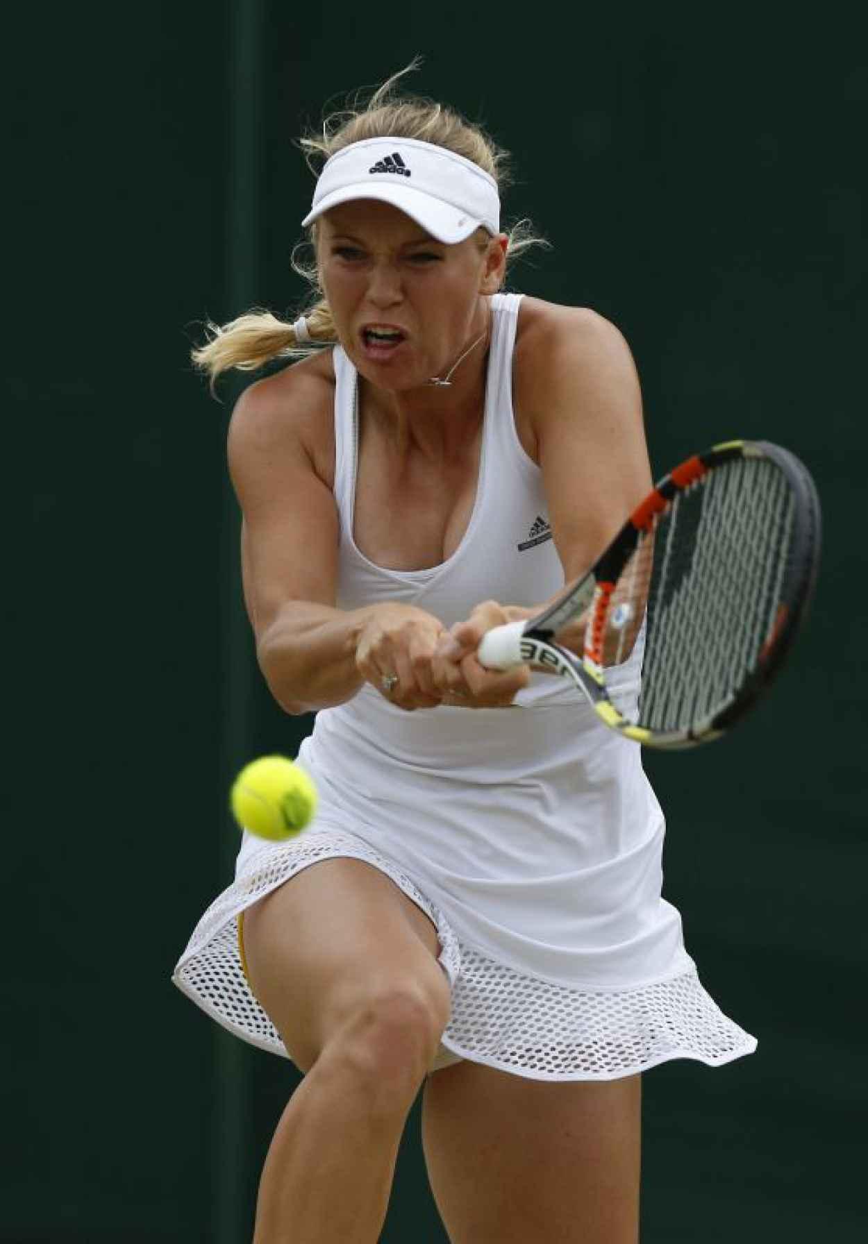 Caroline Wozniacki - Wimbledon Tournament 2015 - Second Round-1