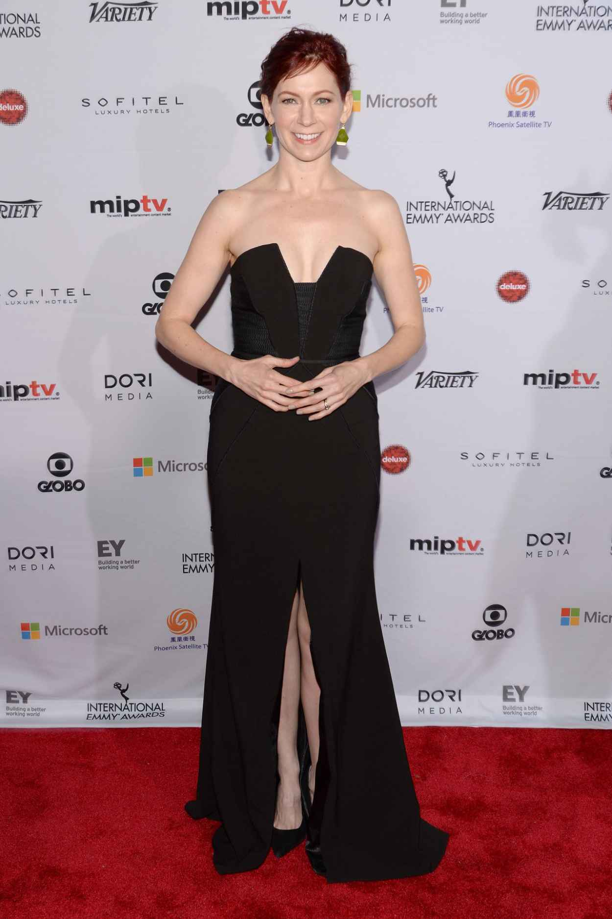 Carrie Preston - 2015 International Academy Of Television Arts & Sciences Emmy Awards in New York City-1