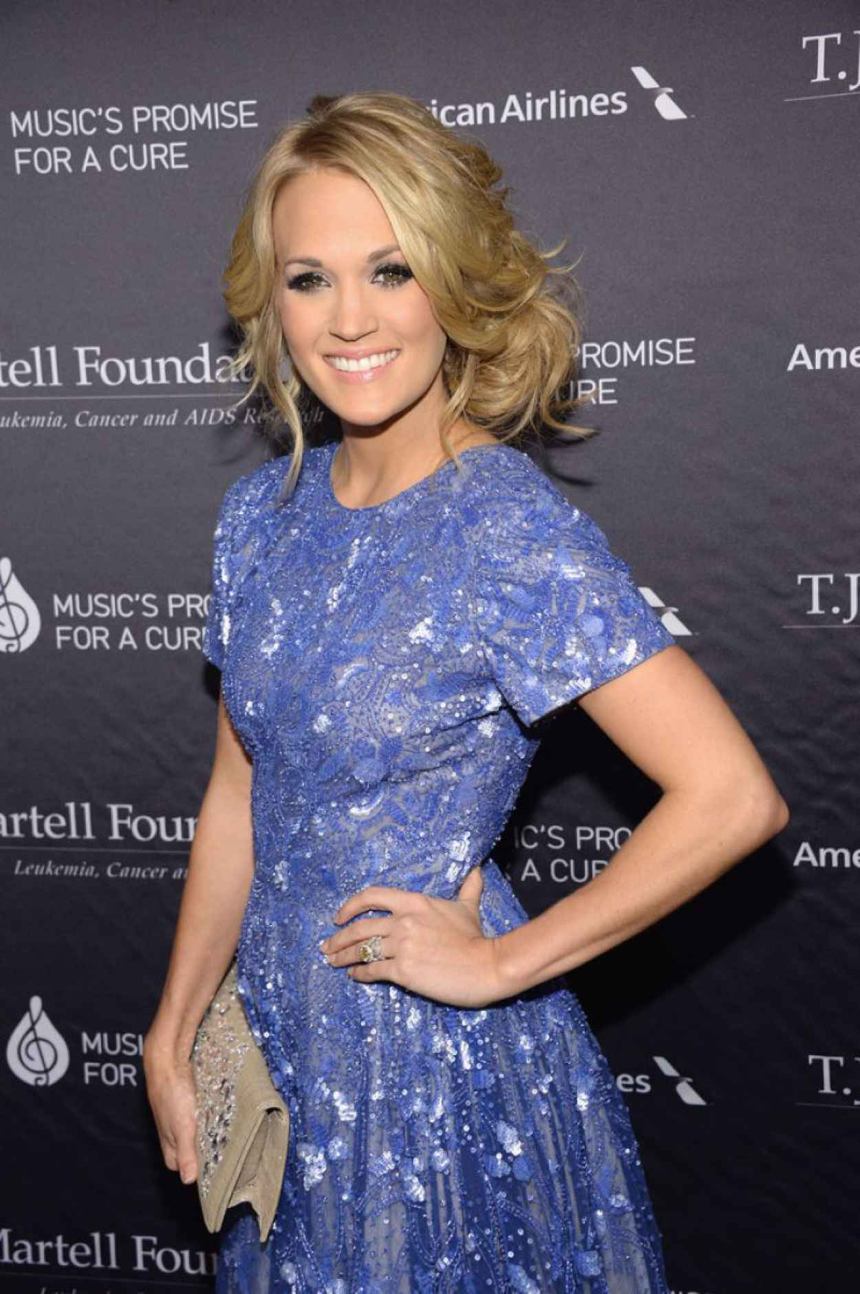 Carrie Underwood - T.J. Martell Foundation Gala in New York City-1