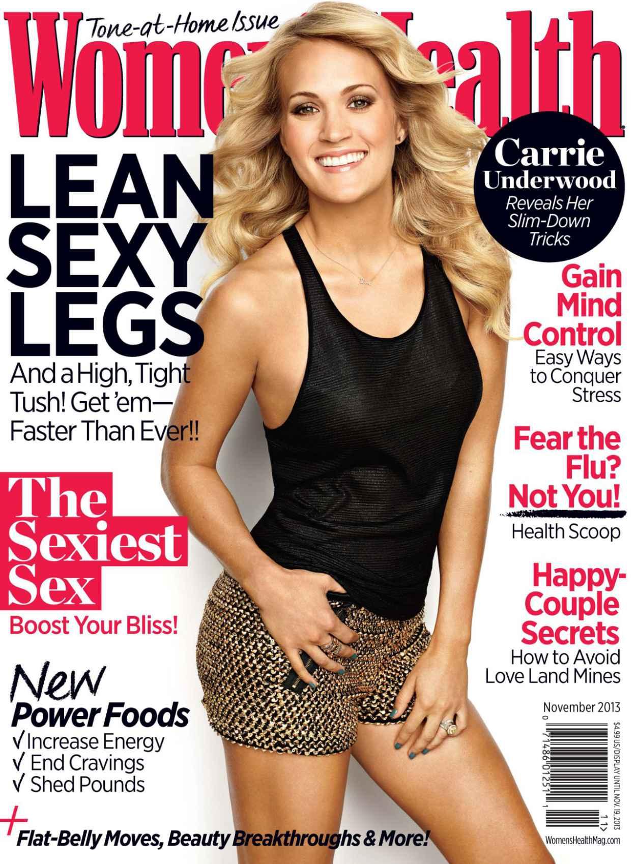 Carrie Underwood - WOMENS HEALTH Magazine - November 2015 Issue-1