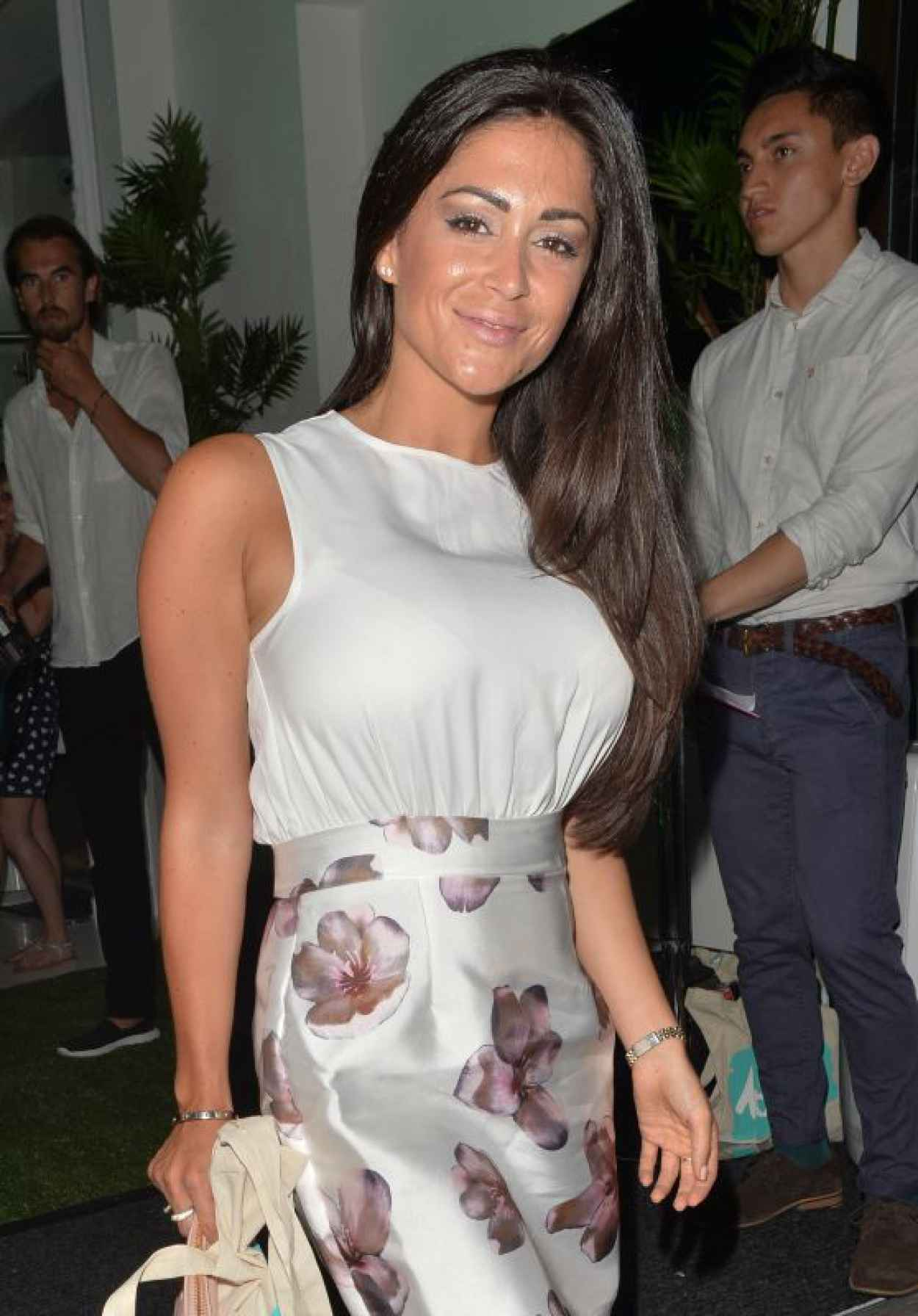 Casey Batchelor - LOVO Coconut Water Launch in London - July 2015-1