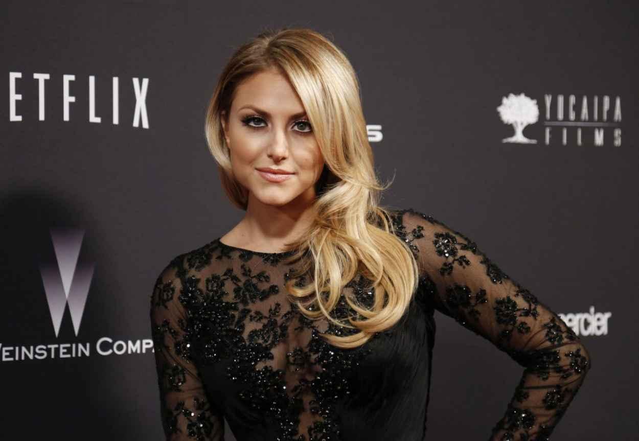 Cassie Scerbo - The Weinstein Company & Netflix 2015 Golden Globe After Party in Beverly Hills-1