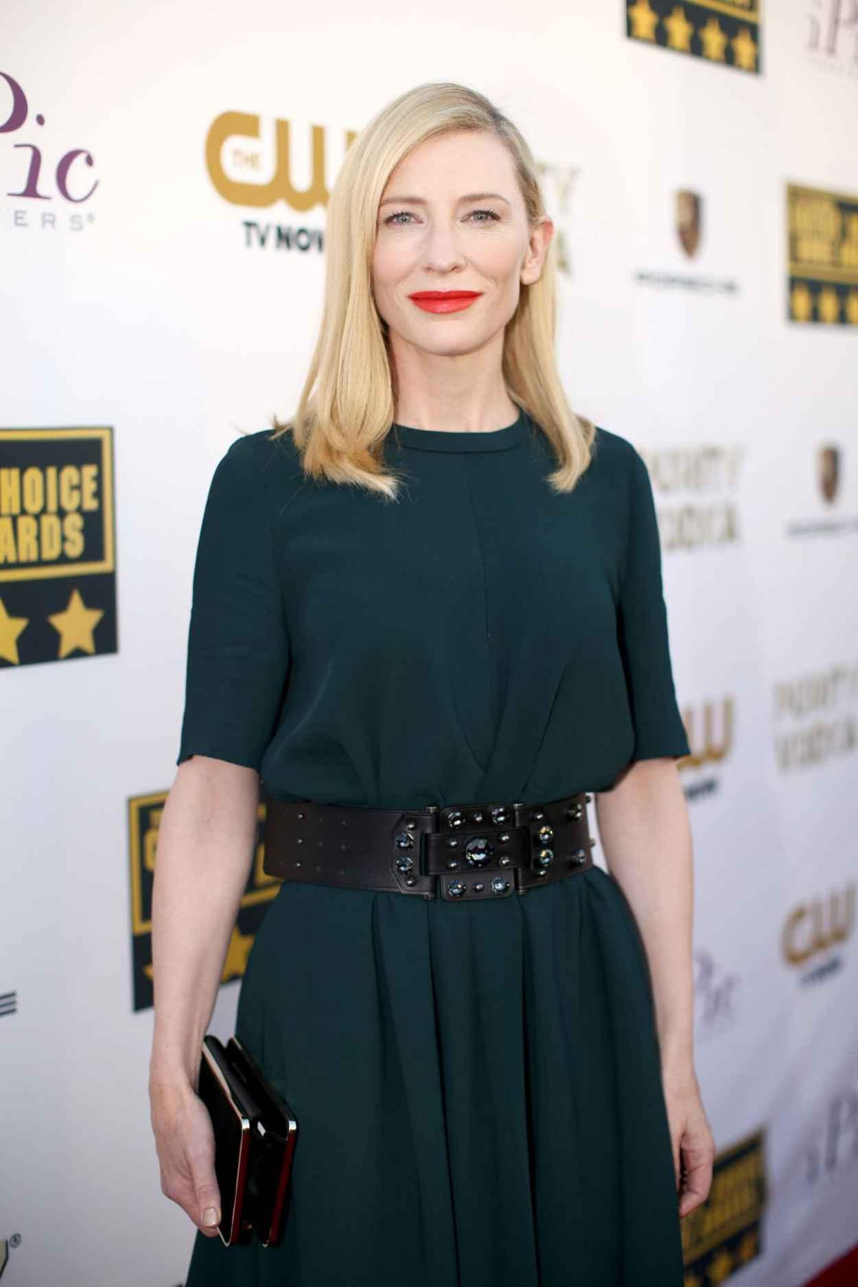 Cate Blanchett - 2015 Critics Choice Movie Awards in Santa Monica-1
