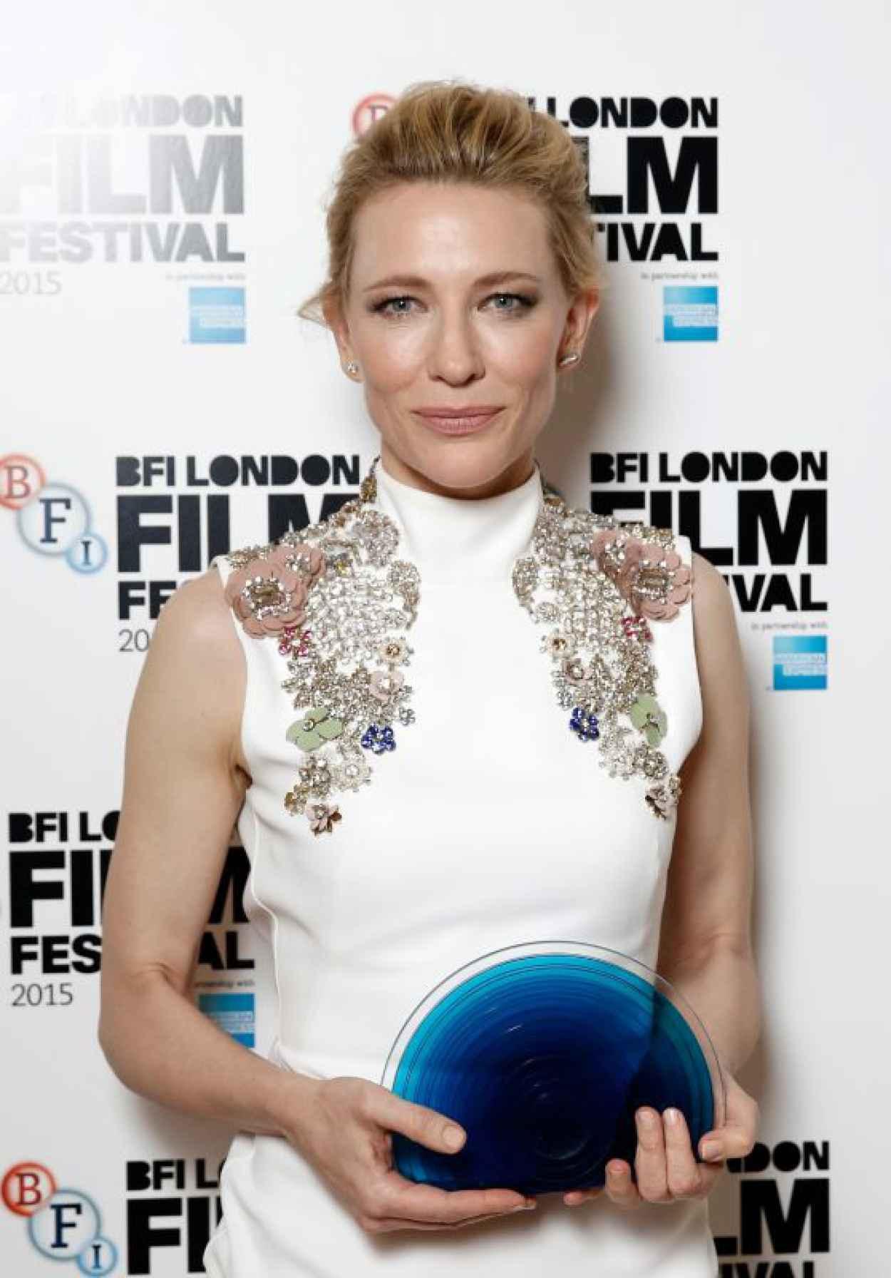 Cate Blanchett - 2015 BFI London Film Festival Awards in London-1