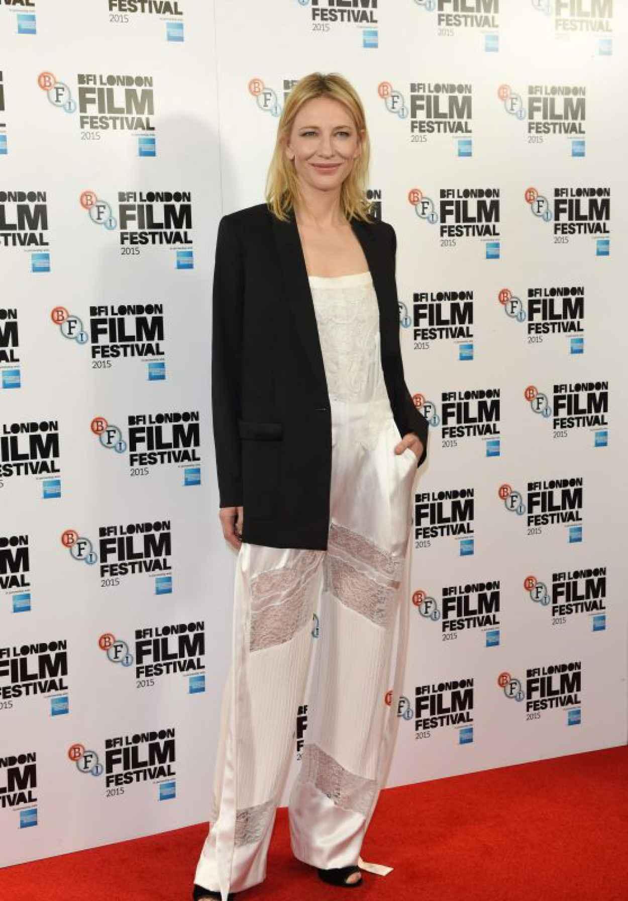 Cate Blanchett - Carol Photocall - BFI London Film Festival-1