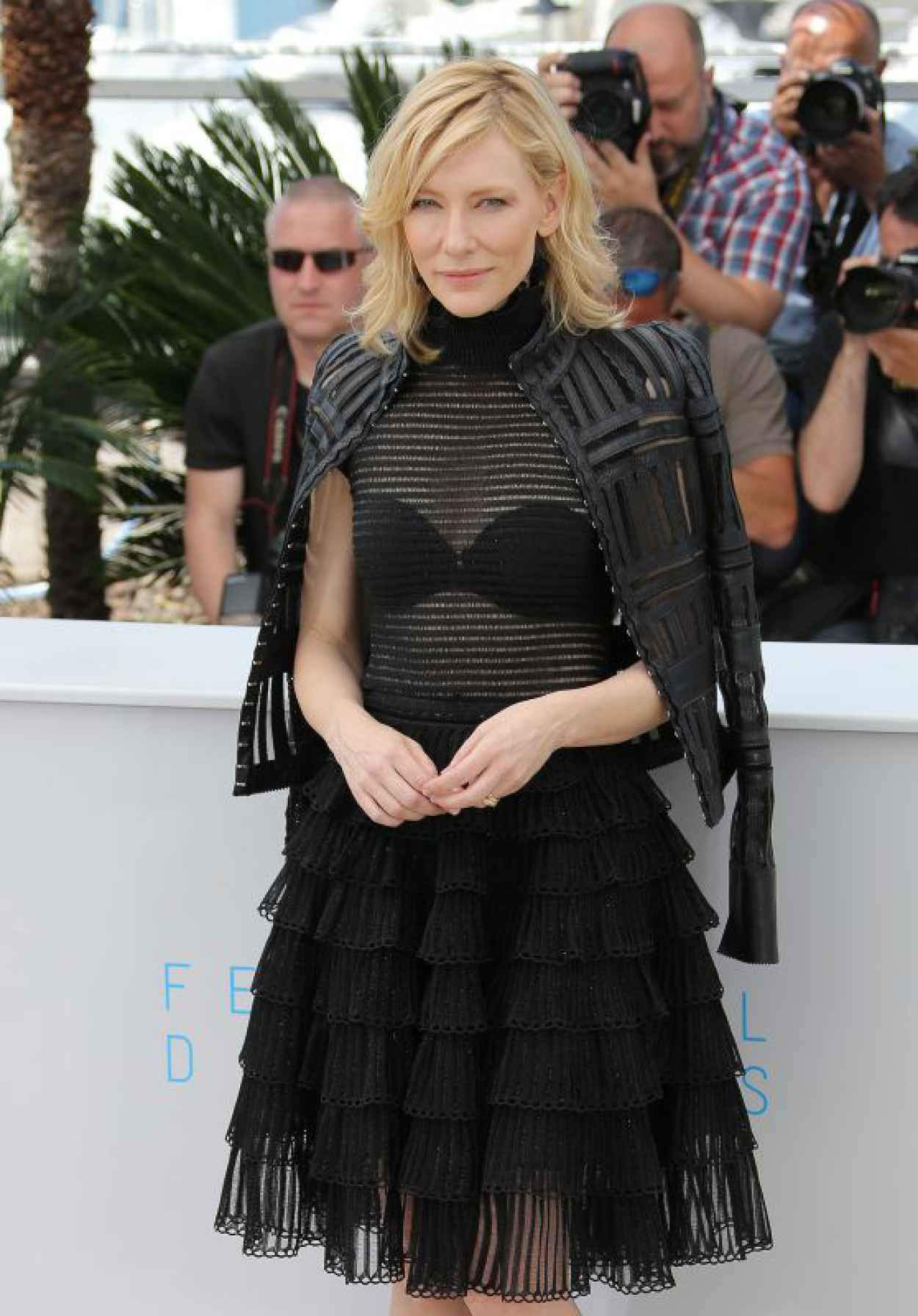 Cate Blanchett - Carol Photocall in Cannes, France, May 2015-1
