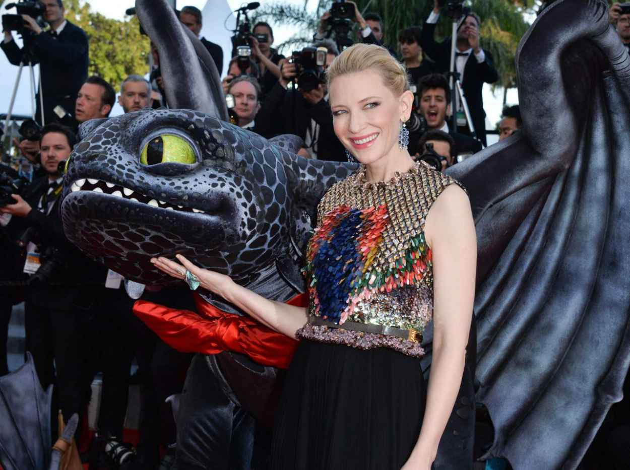 Cate Blanchett - How To Train Your Dragon 2 Premiere - 2015 Cannes Film Festival-1