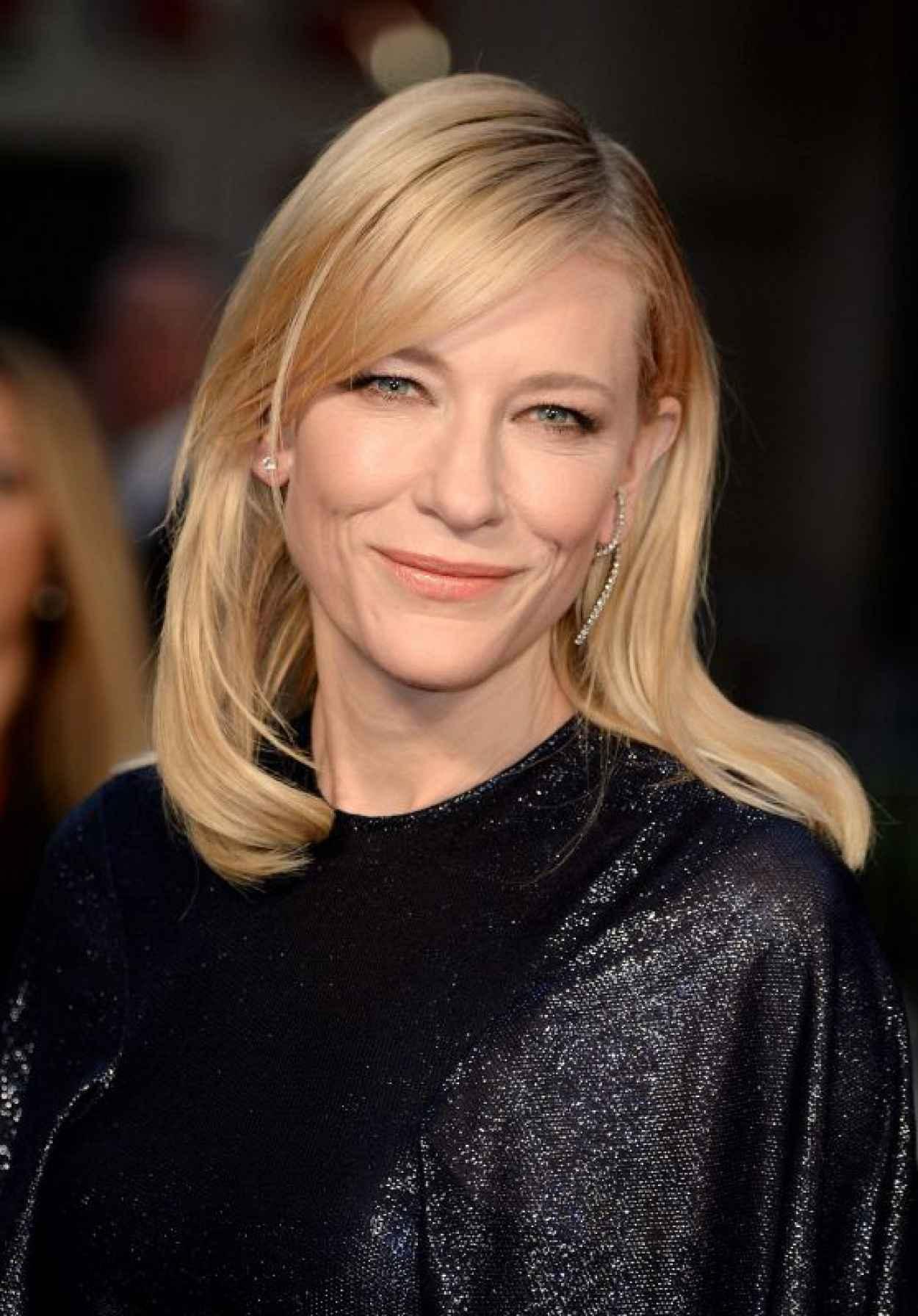 Cate Blanchett on Red Carpet - Carol Premiere - BFI London Film Festival-1