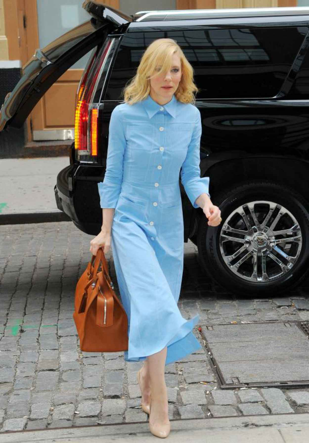 Cate Blanchett Style - Out in Soho in New York, October 2015-1