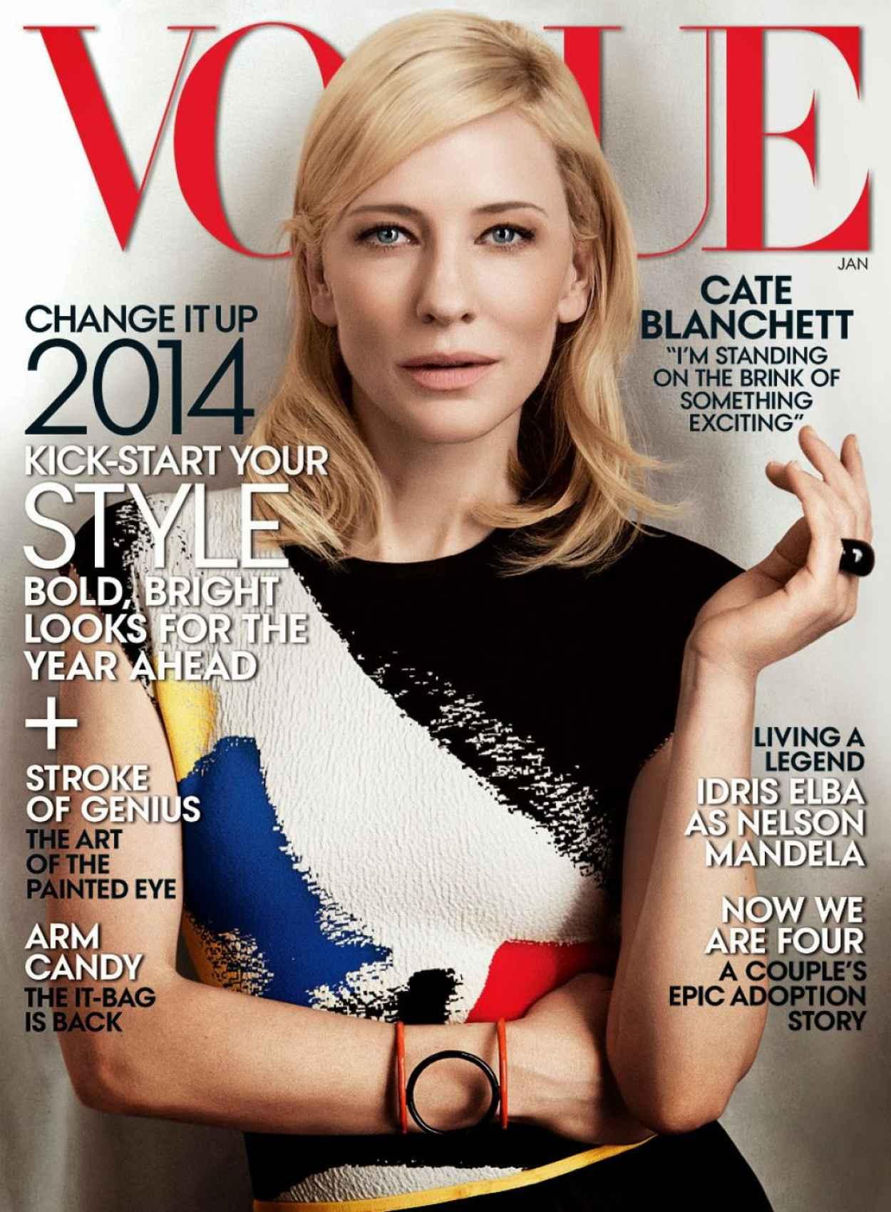 Cate Blanchett - VOGUE Magazine (US) - January 2015 Issue-1
