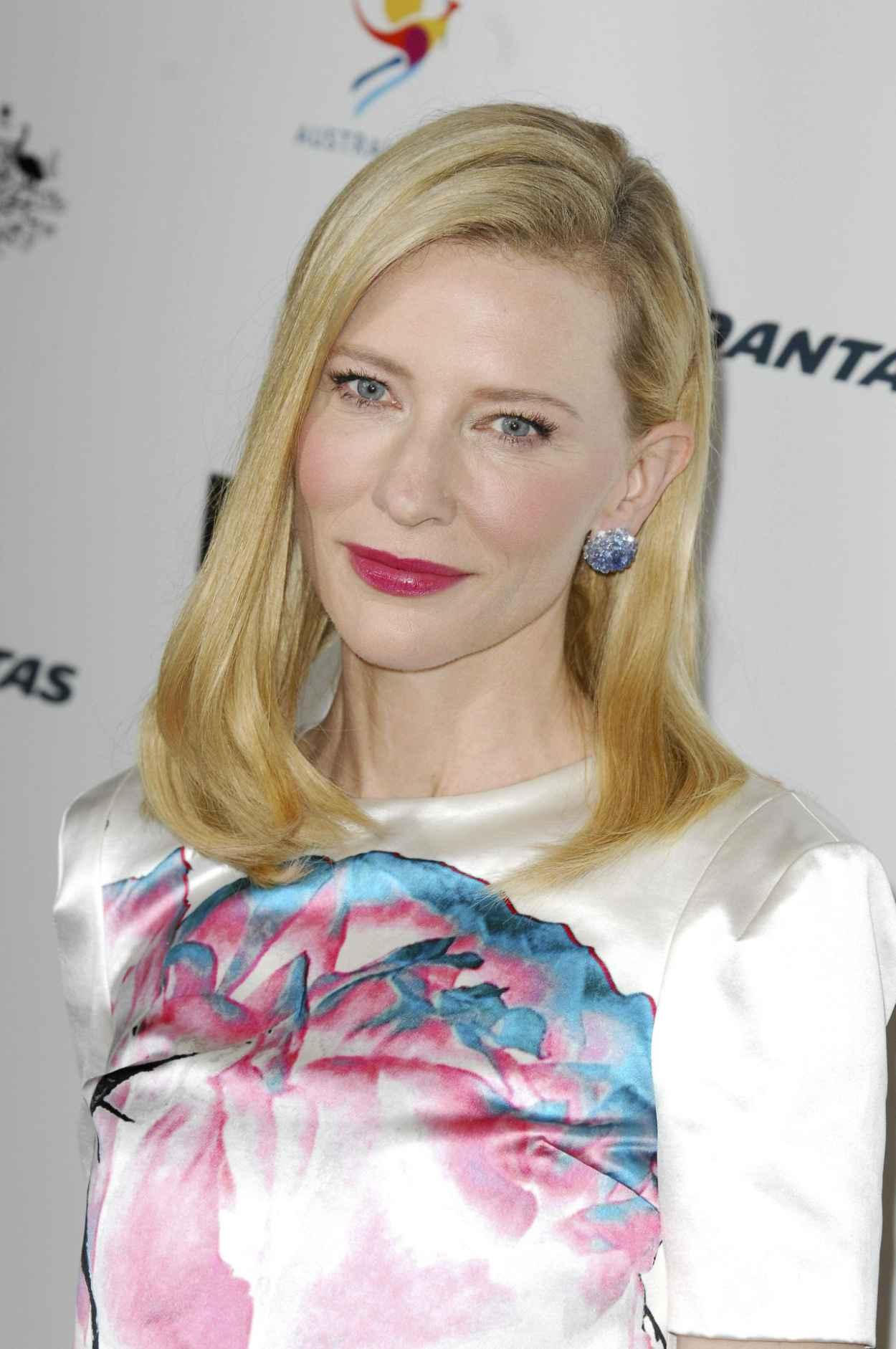 Cate Blanchett Wears Prabal Gurung at GDay USA L.A. Black Tie Gala - January 2015-1