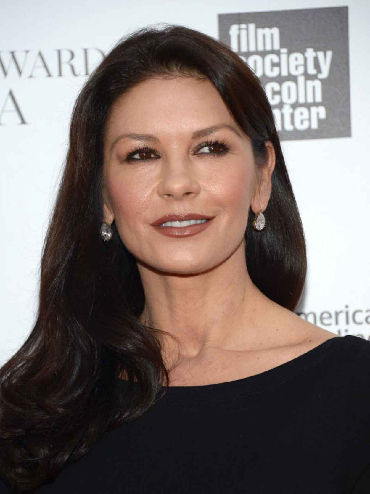 Catherine Zeta-Jones - 2015 Chaplin Award Gala in NYC-1