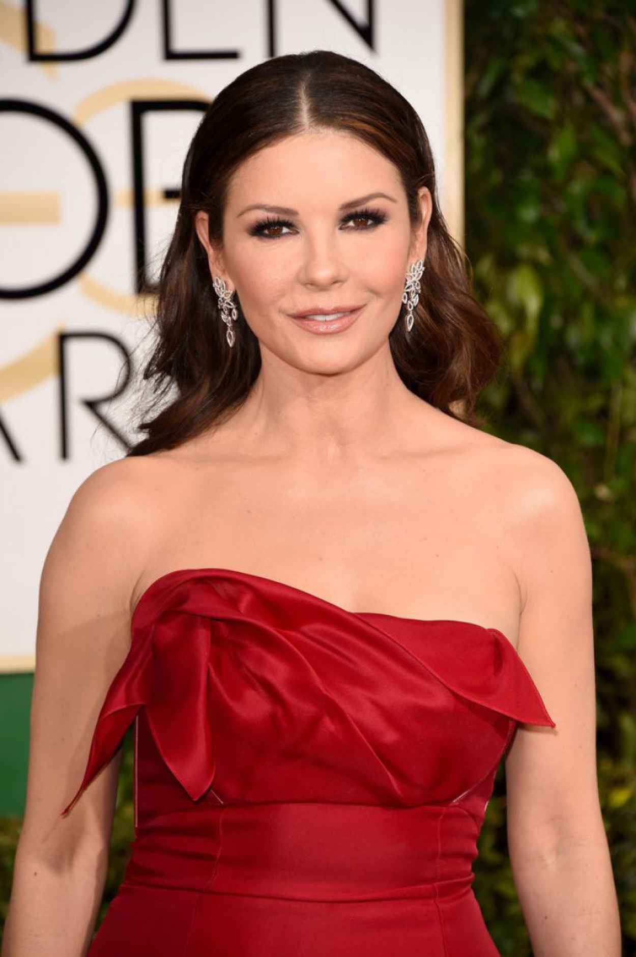 Catherine Zeta Jones - 2015 Golden Globe Awards in Beverly Hills-1