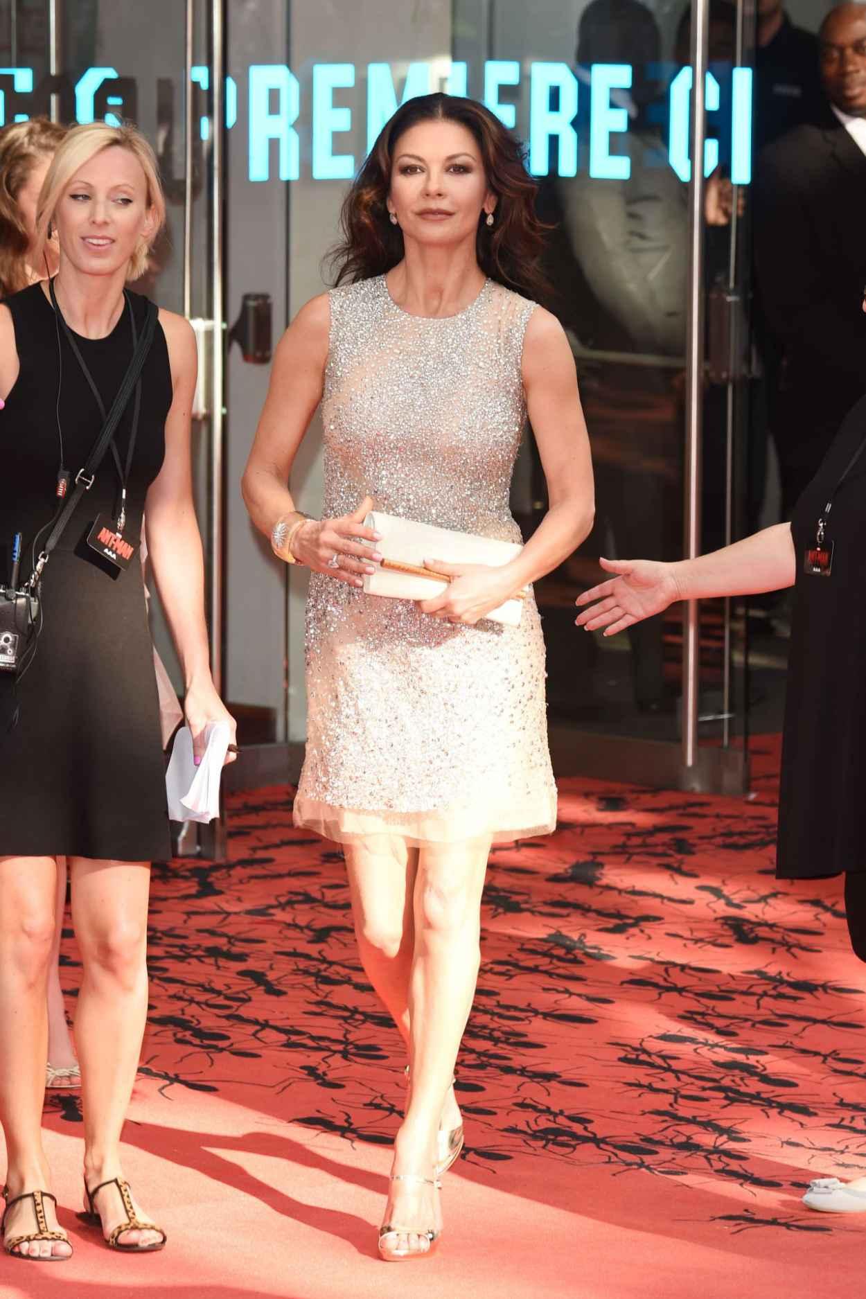 Catherine Zeta-Jones - Marvels Ant-Man Premiere in London-2