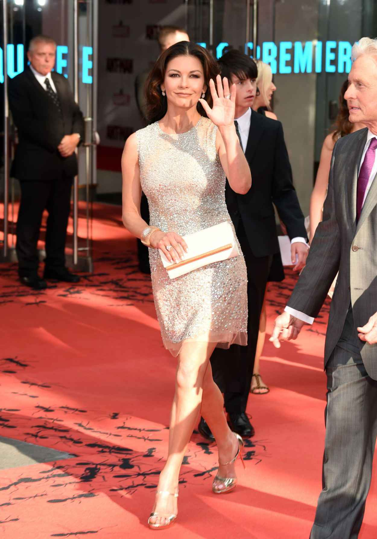 Catherine Zeta-Jones - Marvels Ant-Man Premiere in London-3