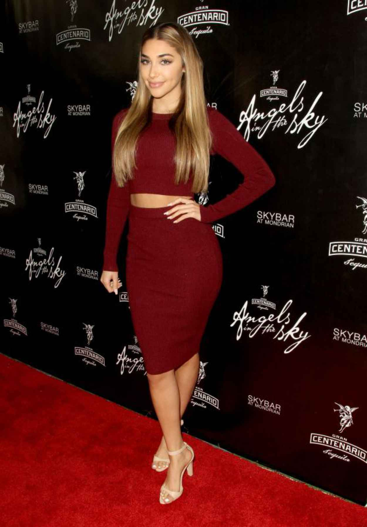 Chantel Jeffries - Angels In The Sky Presented by Gran Centenario Tequila in West Hollywood-1